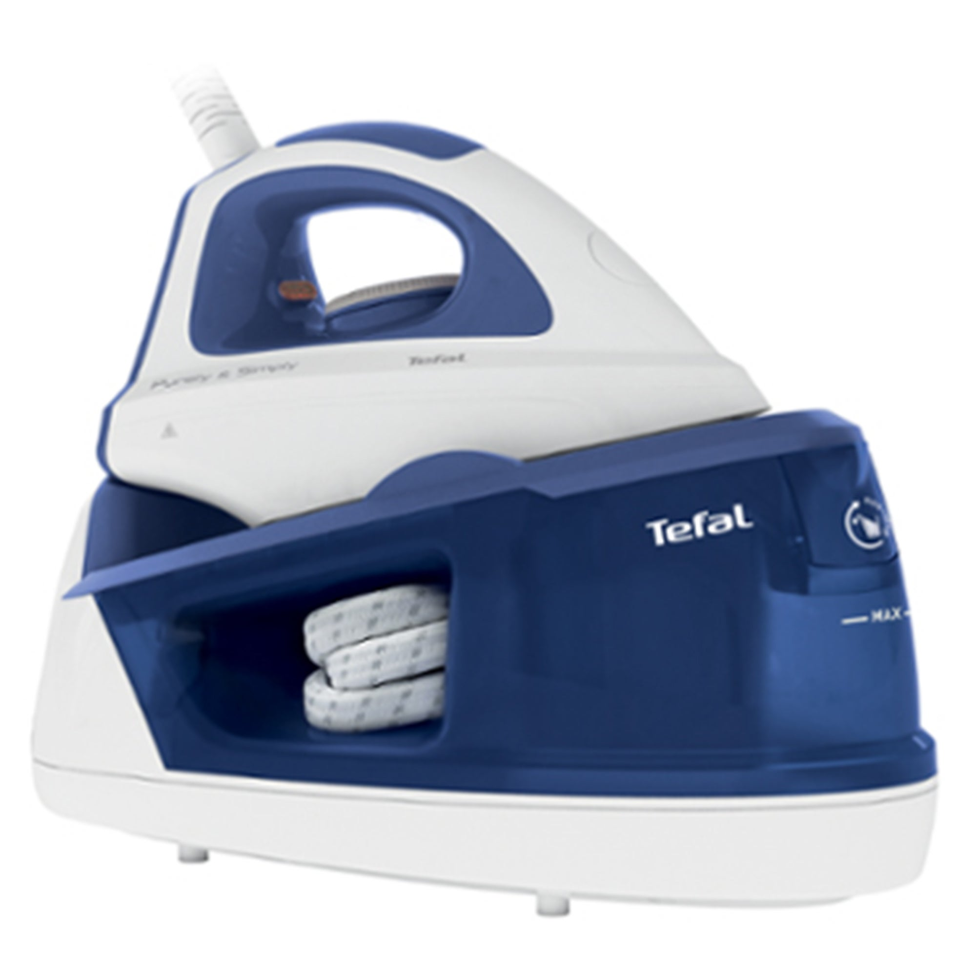 Tefal Pure Simply 2200W Steam Generator Iron White and Blue