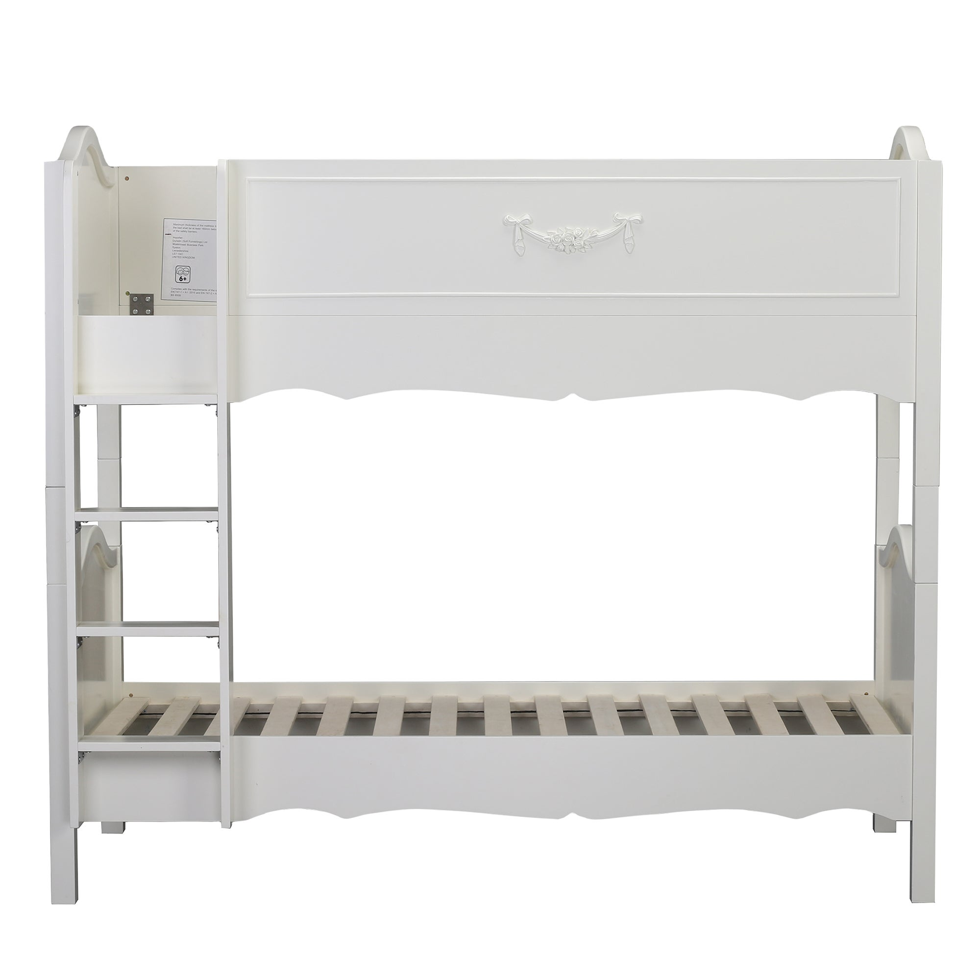 Photo of Toulouse white bunk bed off-white