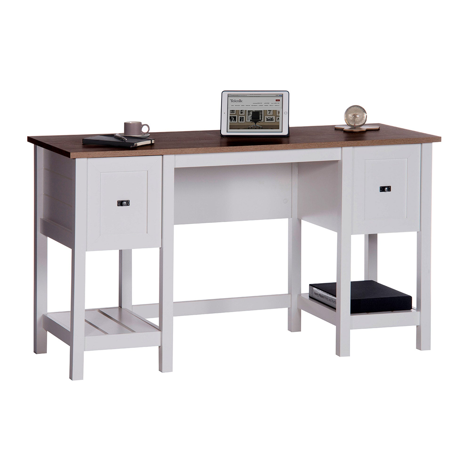 Shaker Style Home Office Desk White