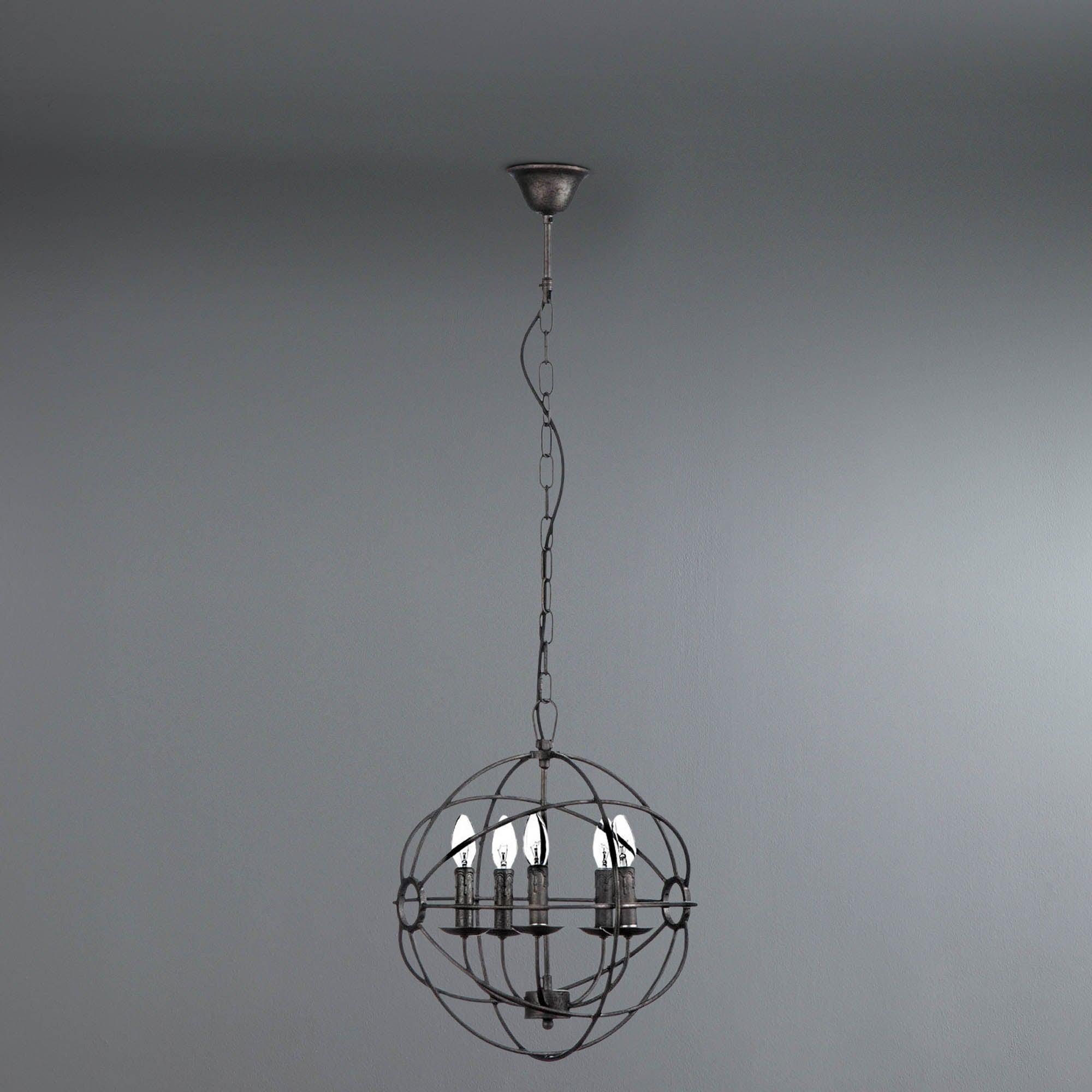 Photo of Orbital pendant light grey