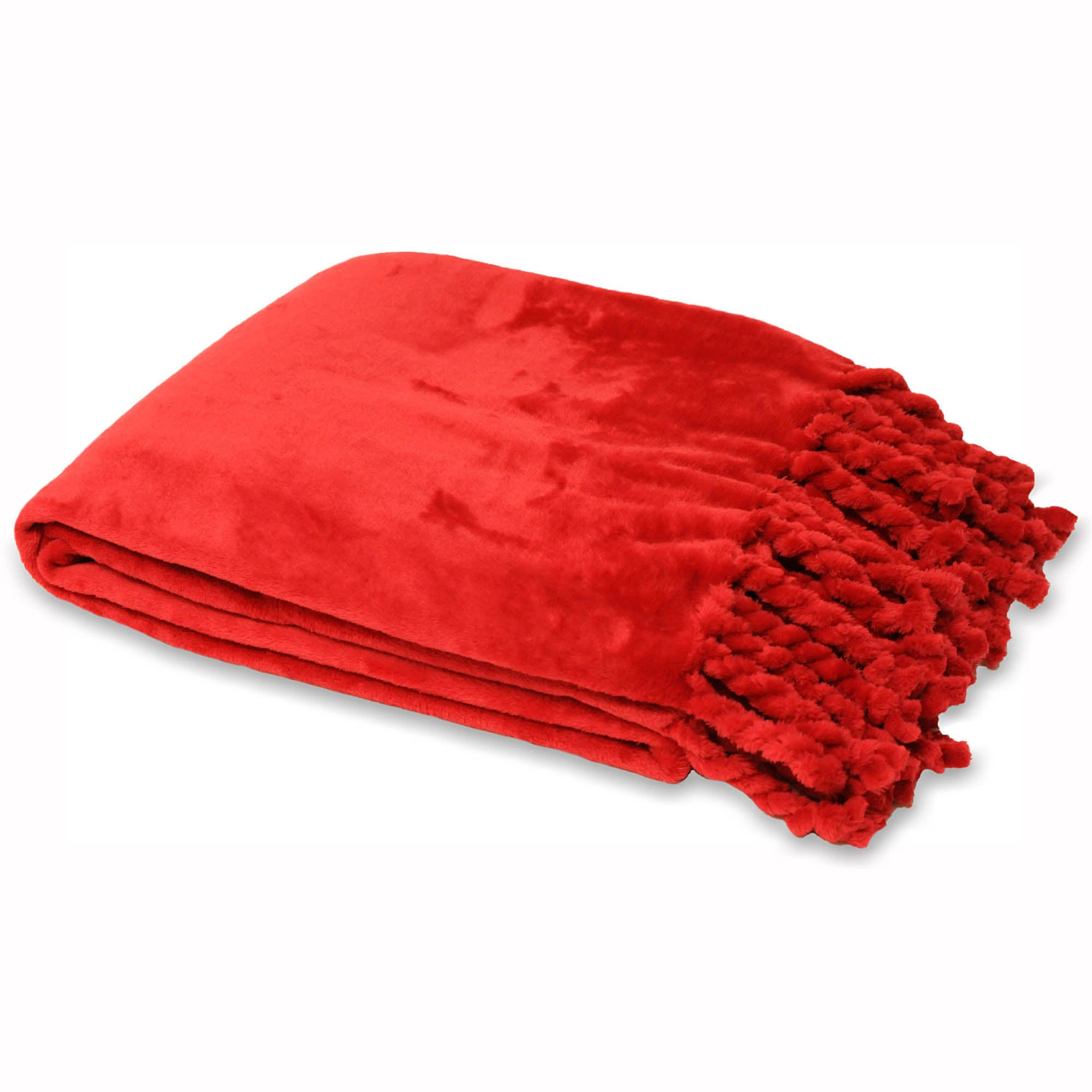 Photo of Dorset red throw red