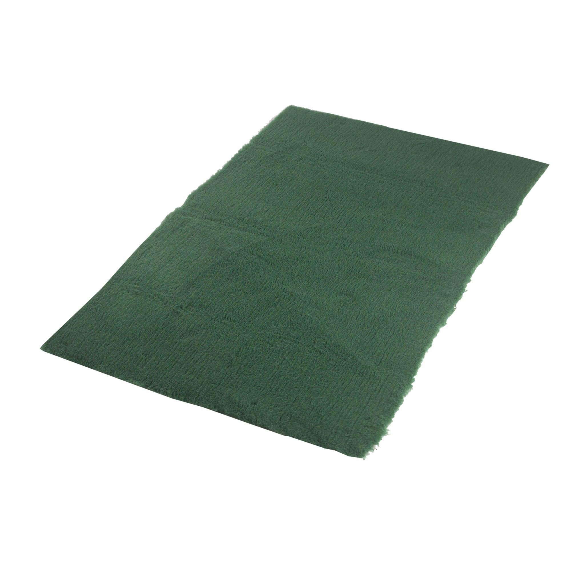 Green Traditional Pet Vet Bedding Viridian (Green)
