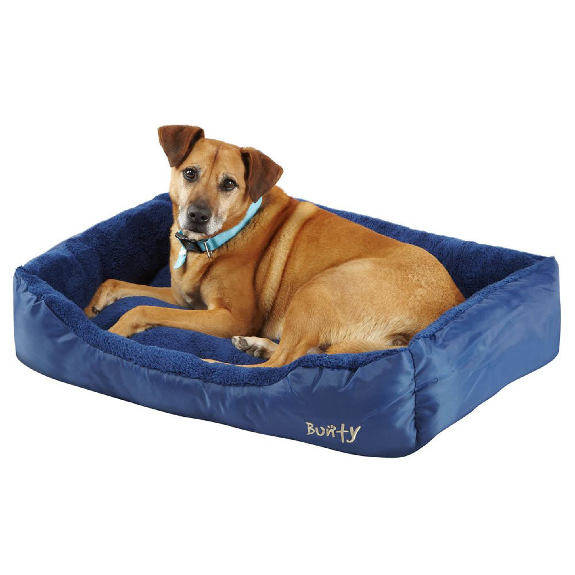Bunty Blue Deluxe Dog Bed Neptune (Blue)