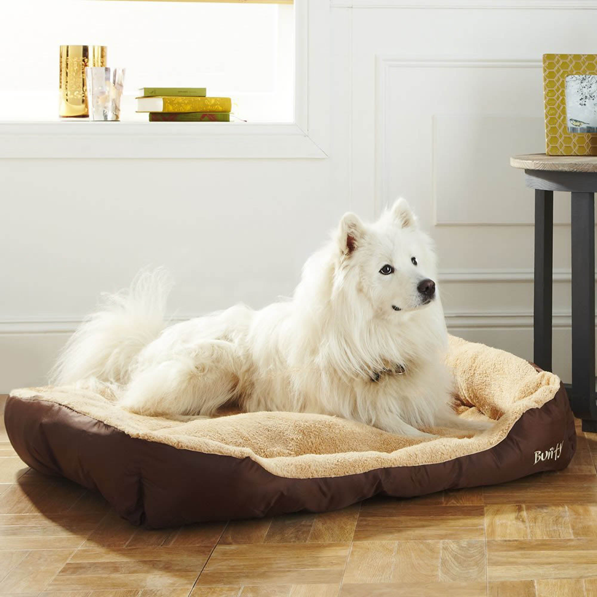 Bunty Brown Deluxe Dog Bed Spice (Brown)