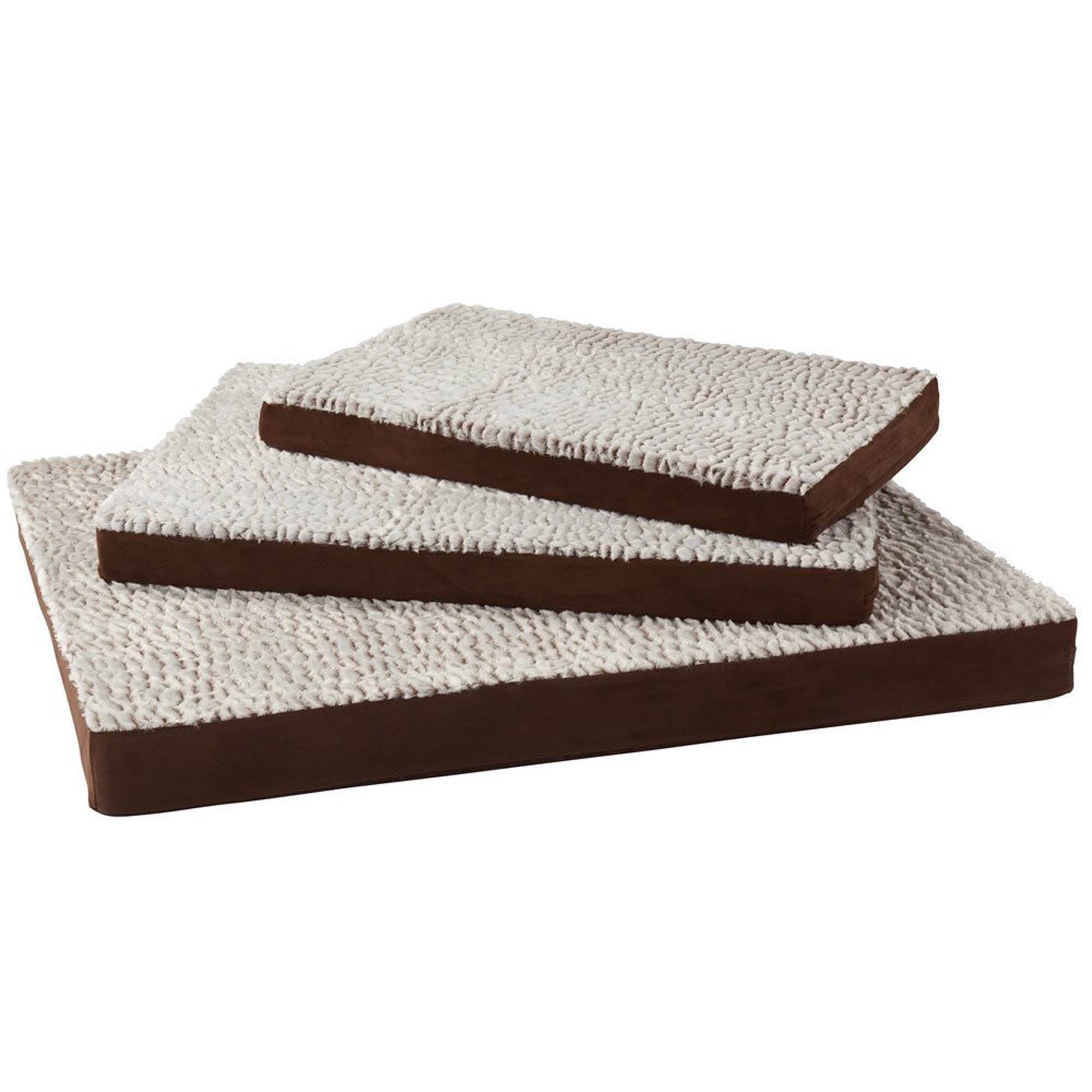 Bunty Brown Ultra Soft Fur Dog Mattress Spice (Brown)