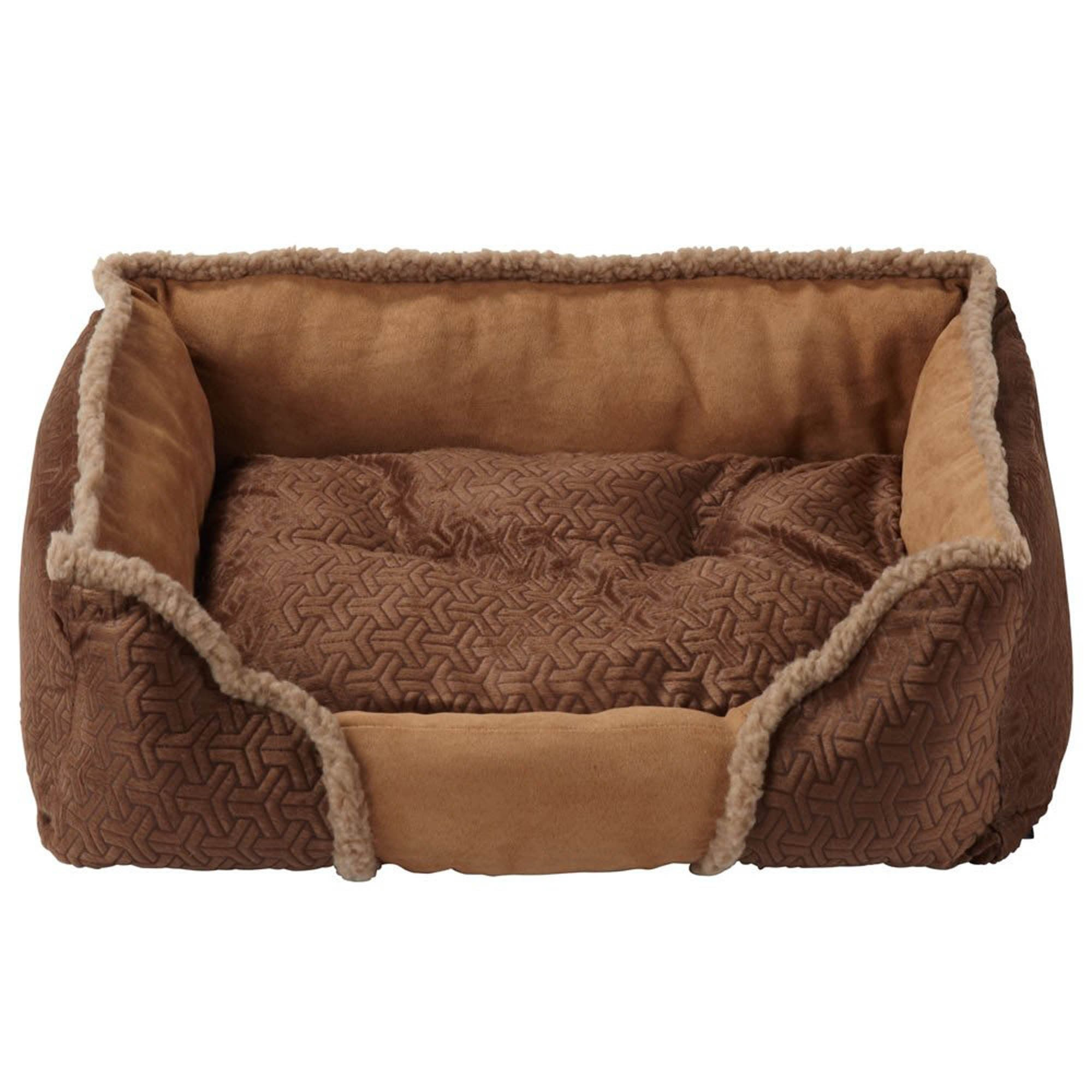 Bunty Brown Kensington Dog Bed Spice (Brown)