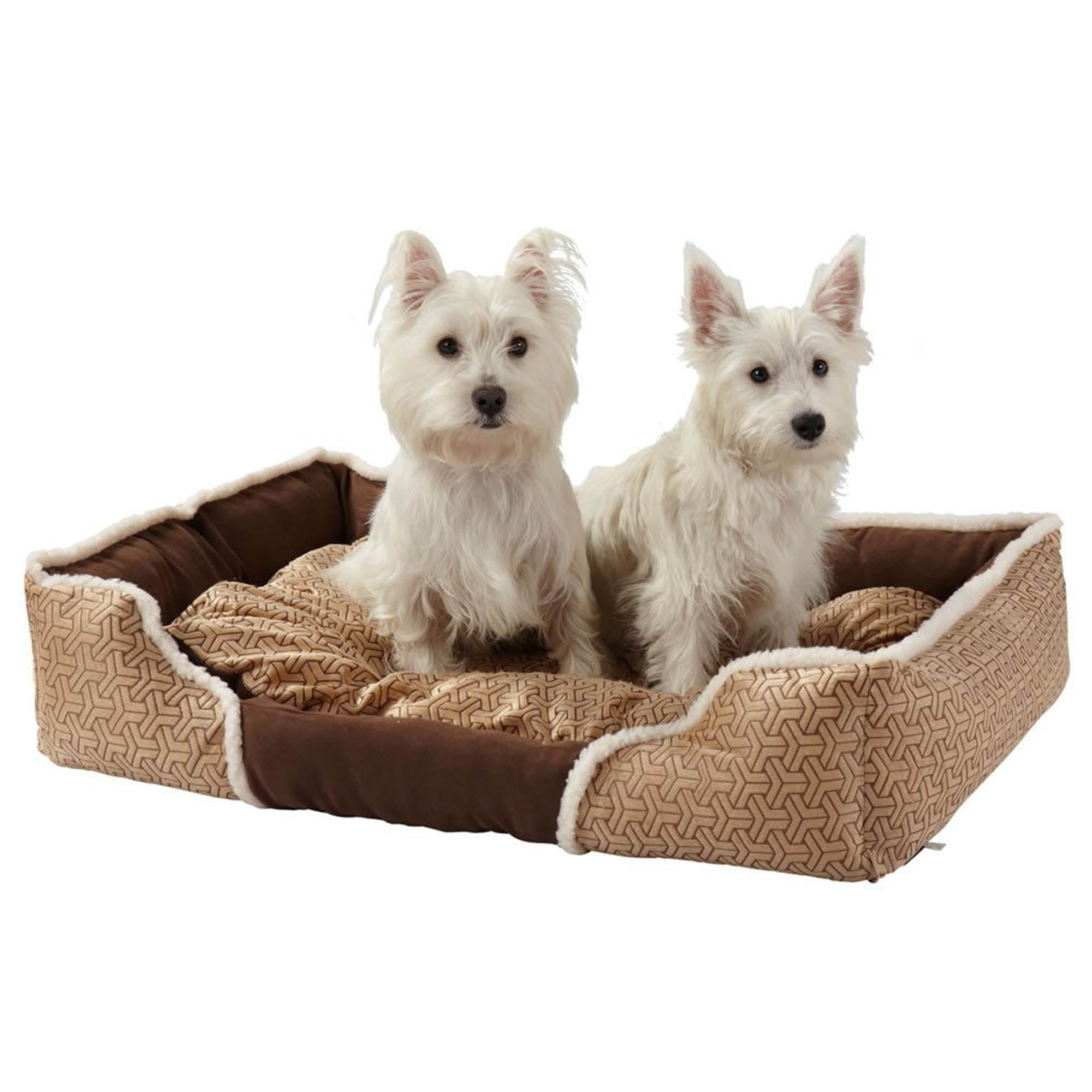 Bunty Cream Kensington Dog Bed Confetti (Beige)