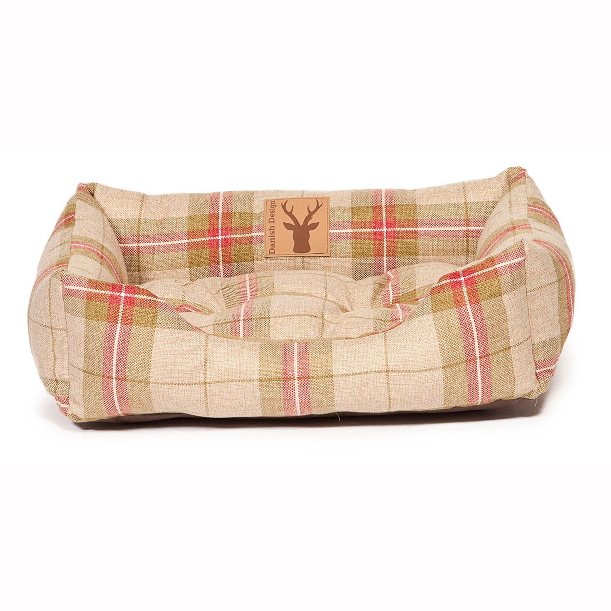Moss Snuggle Dog Bed Beige