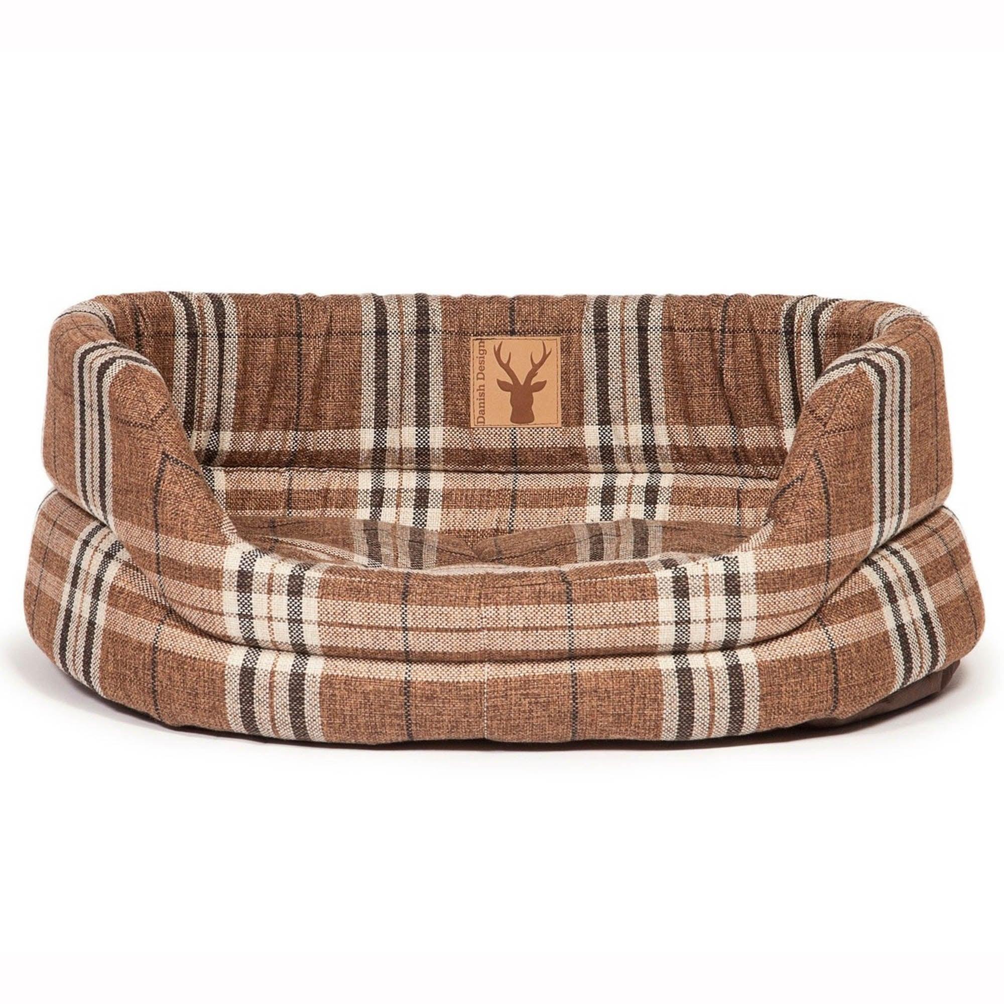 Truffle Slumber Dog Bed Coffee (Brown)