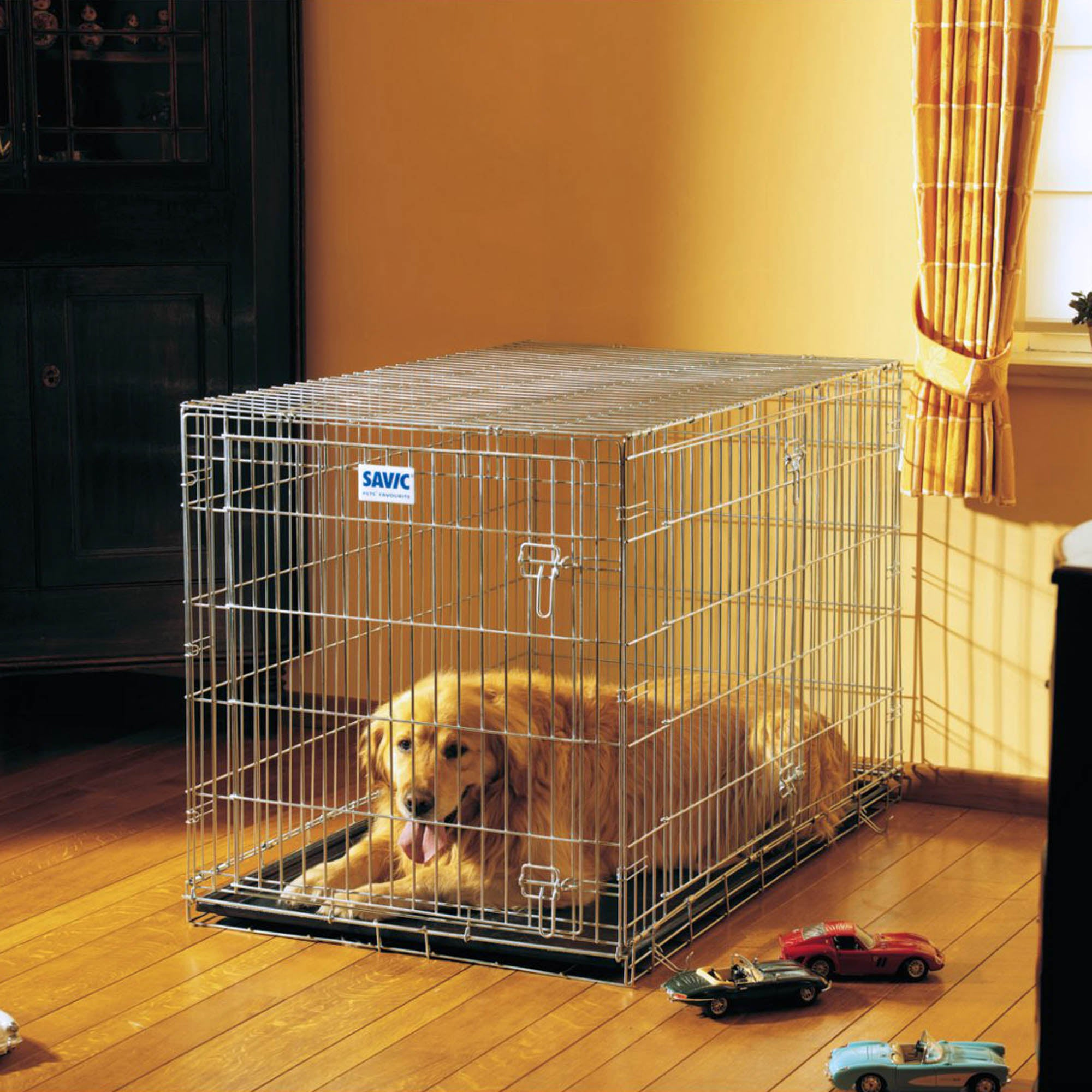 Residence Dog Crate Steel (Silver)