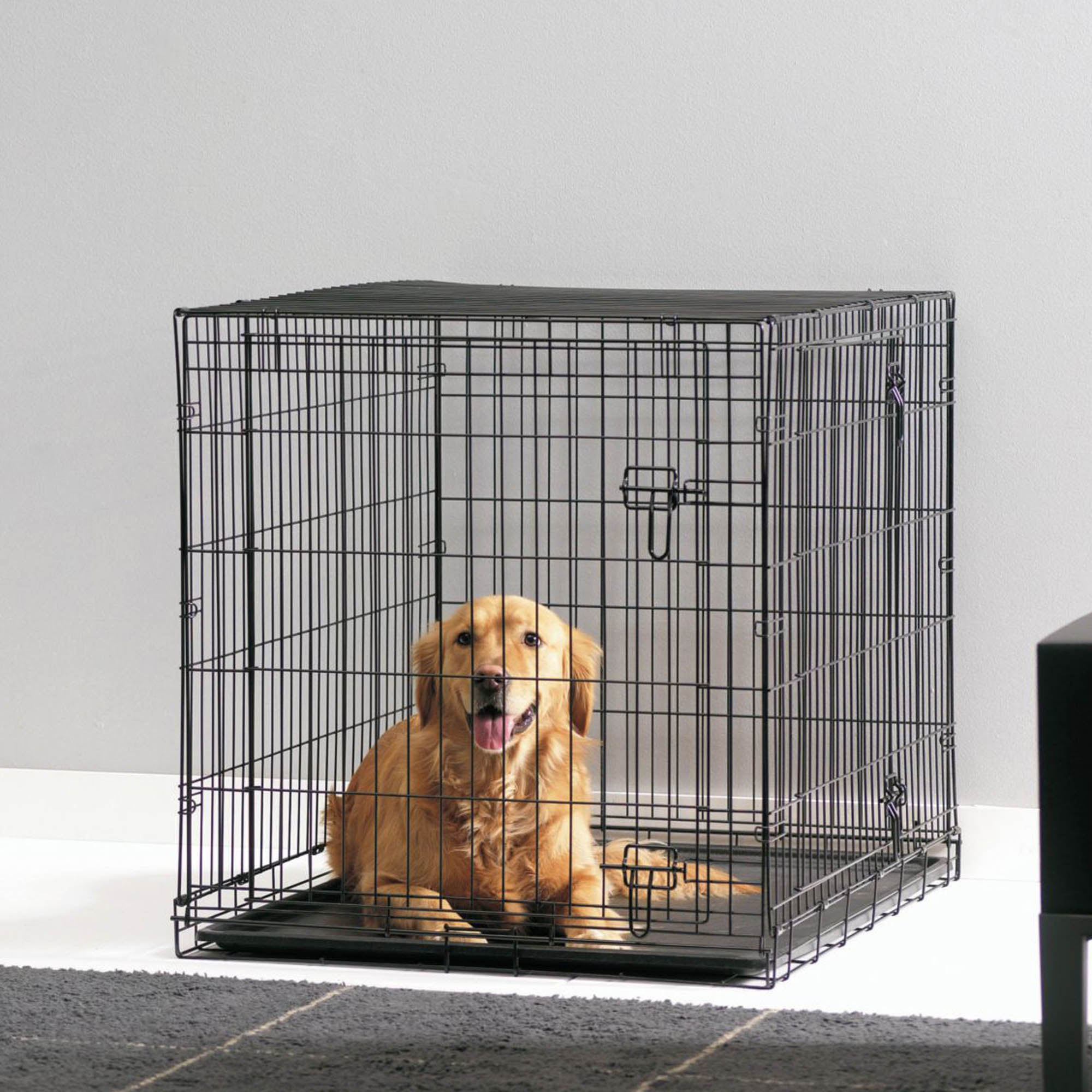 Cottage Dog Crate Black