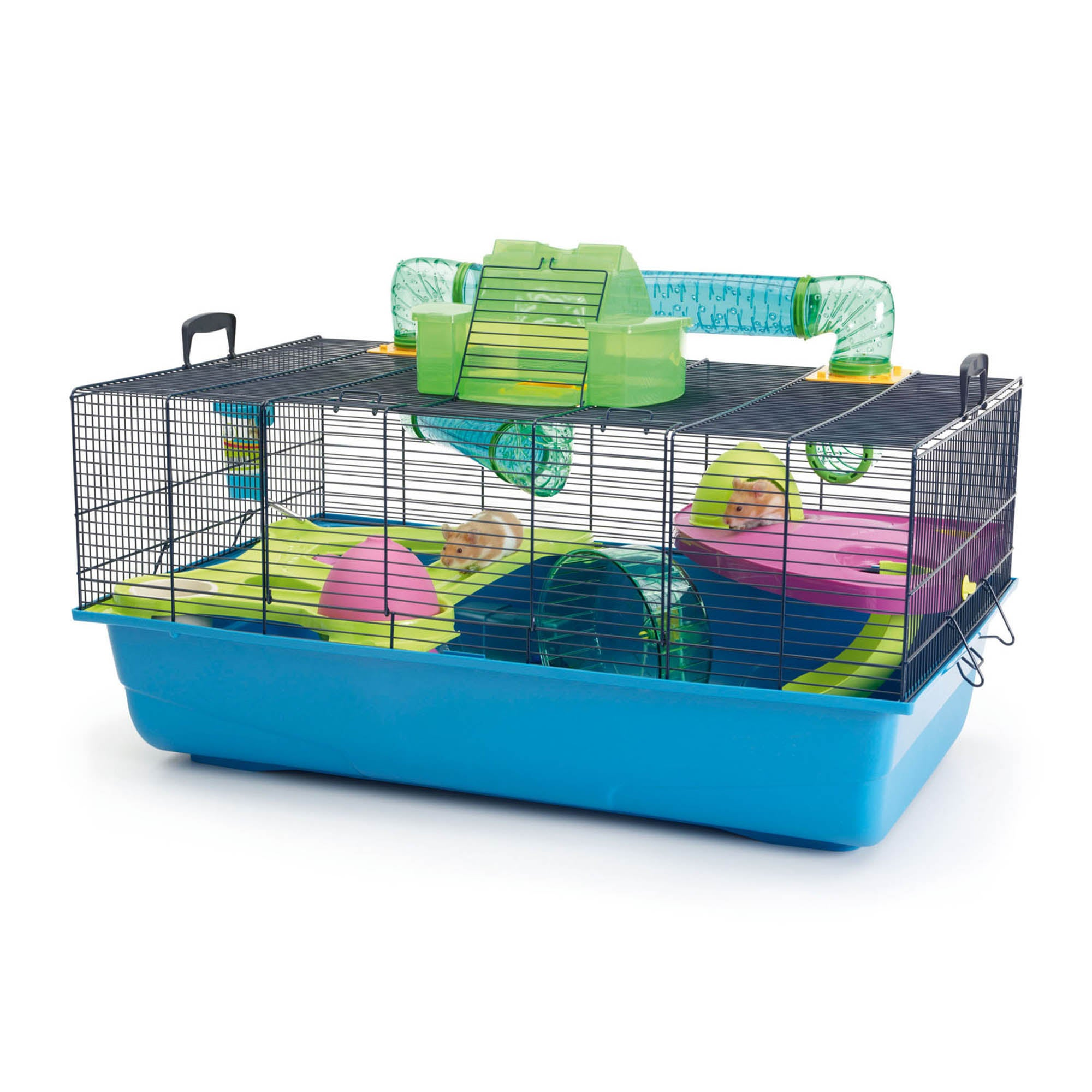 Hamster Heaven Cage Kingfisher (Blue)