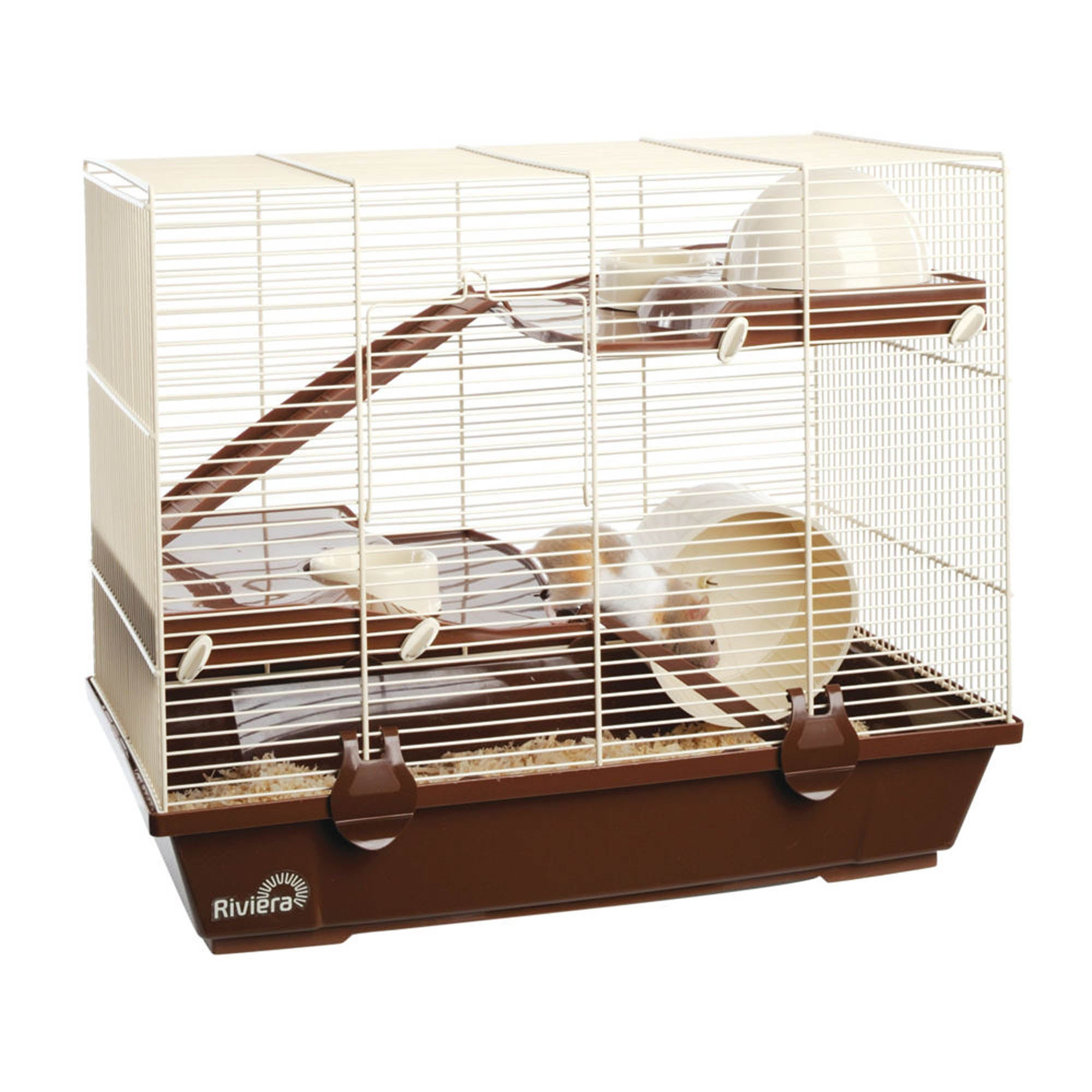 Rapallo Double Floor Hamster Cage Spice (Brown)