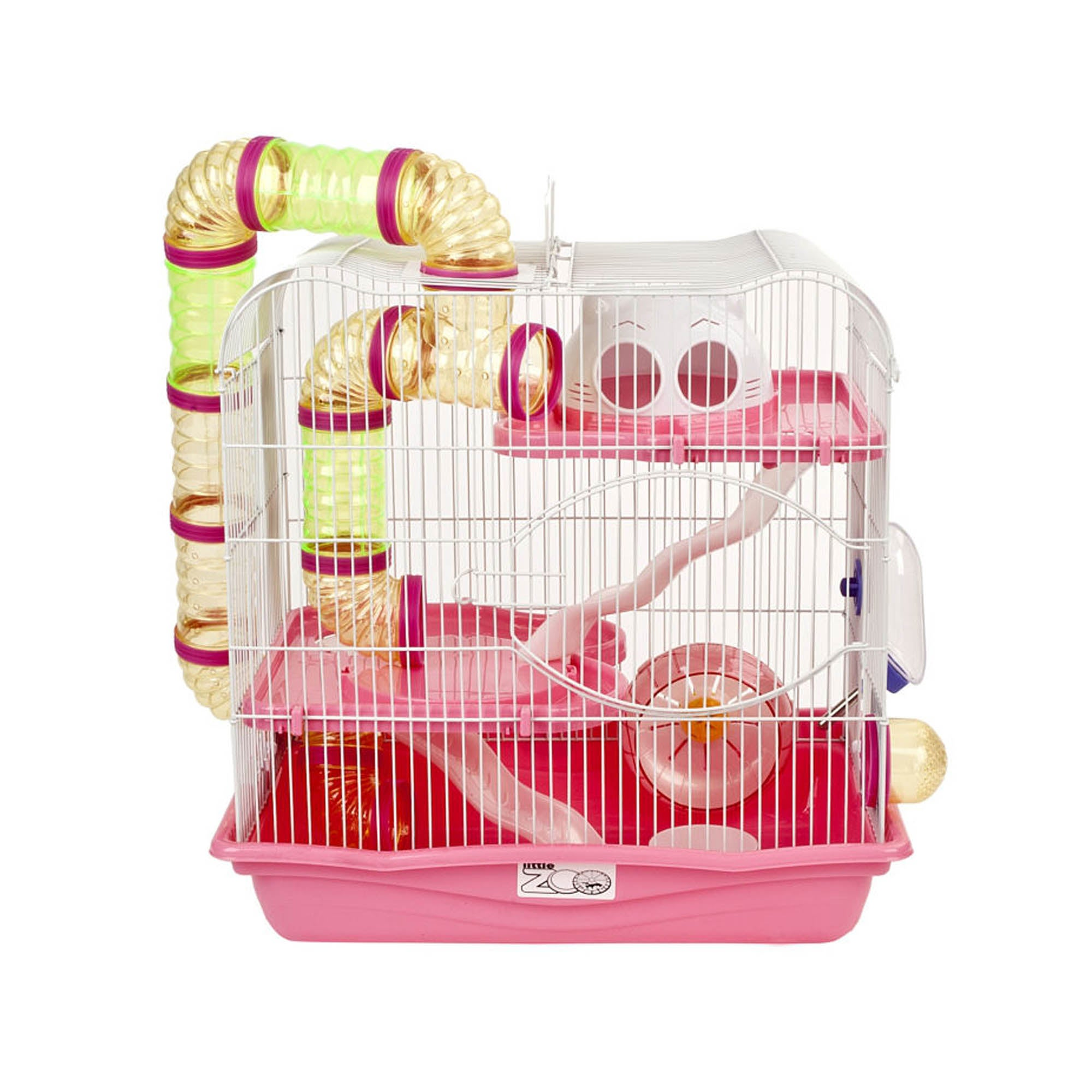 Henry Pink Hamster Cage Strawberry (Pink)