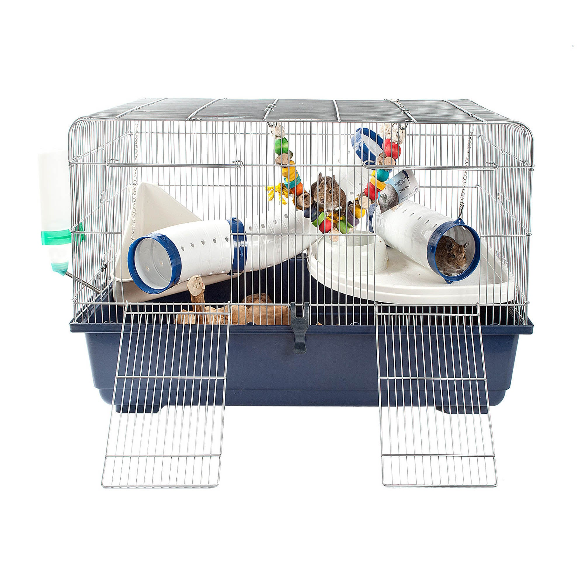 Ricky Rat and Rodent Cage Navy (Blue)