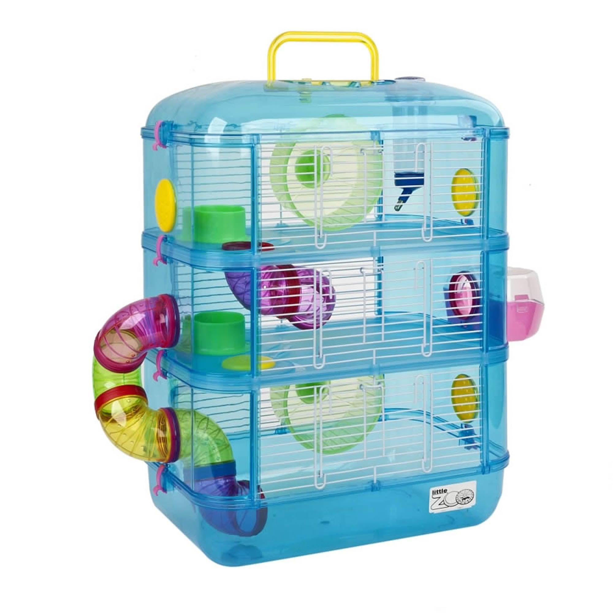 Fantasia Blue Hamster Cage Kingfisher (Blue)