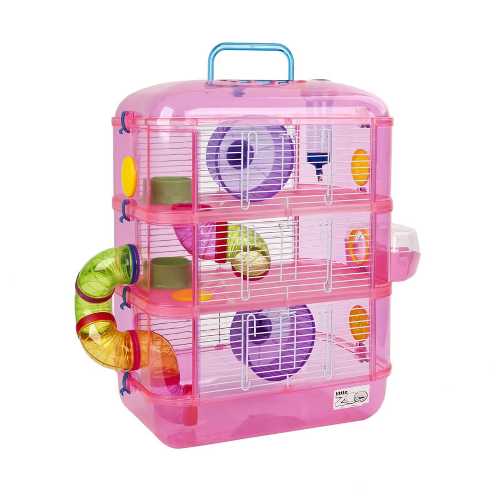 Fantasia Pink Hamster Cage Strawberry (Pink)