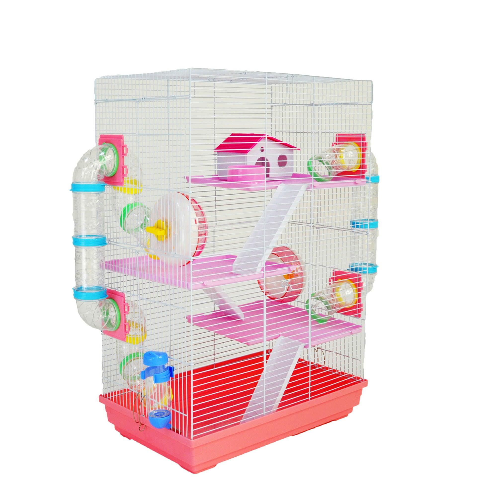 Harriett Pink Cage Strawberry (Pink)