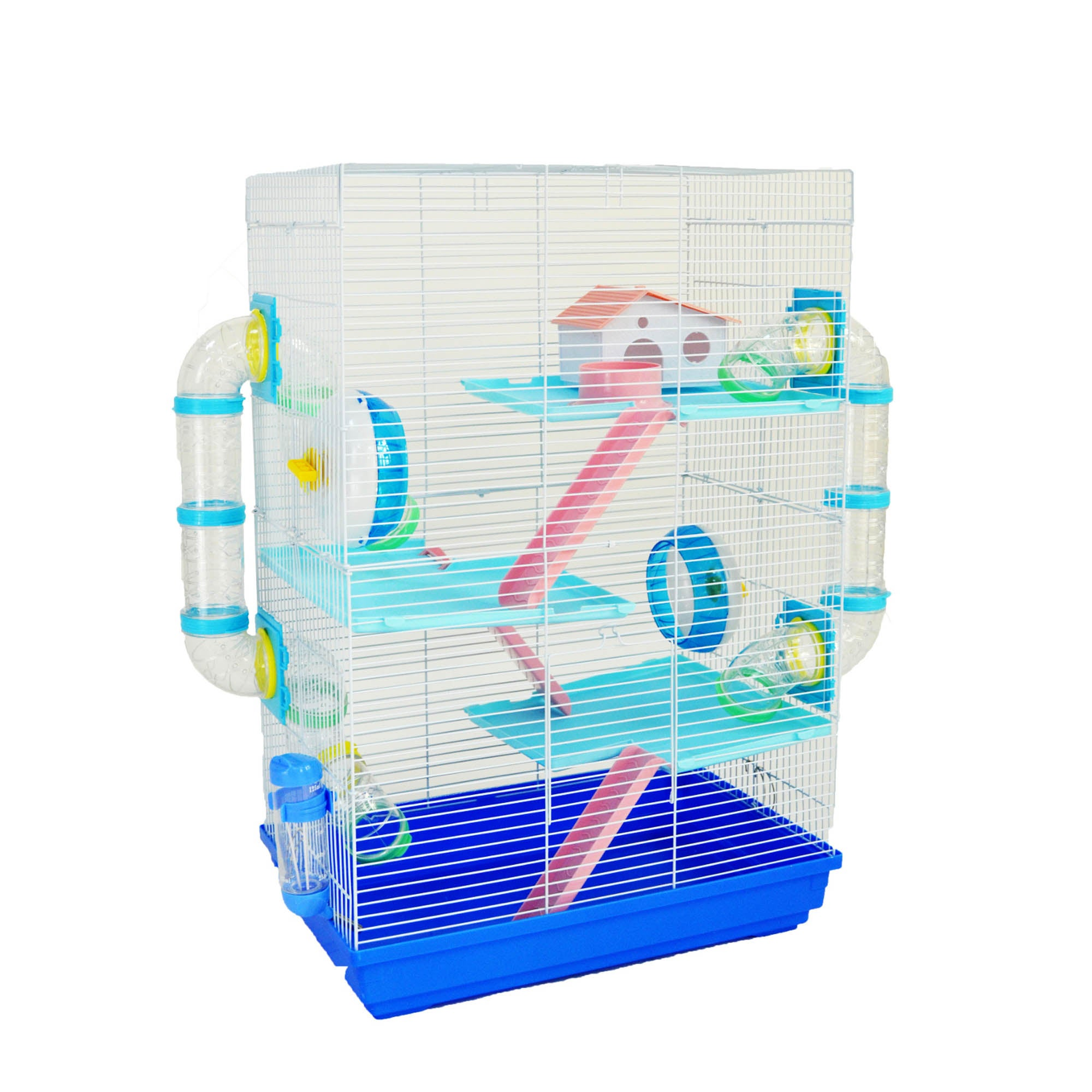 Harriett Blue Cage Kingfisher (Blue)