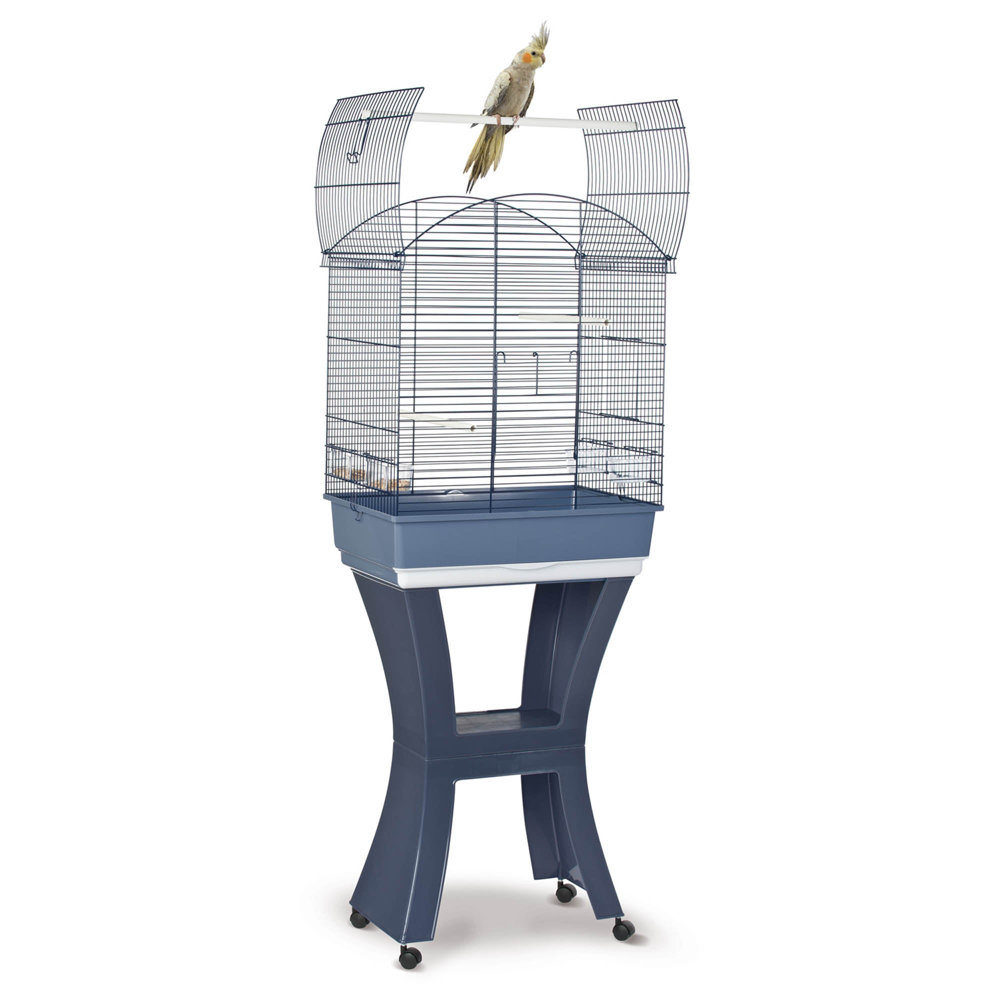 Calla Parrot Cage Midnight (Blue)