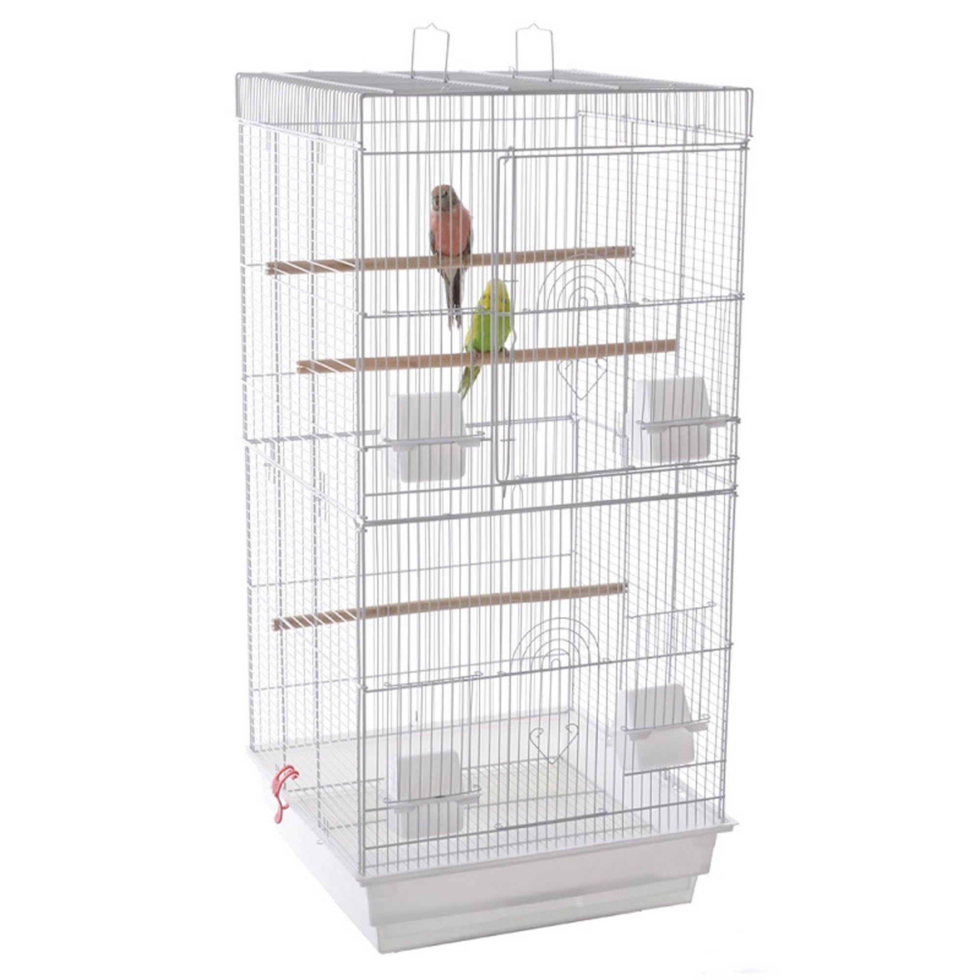 Jing Bird Cage White