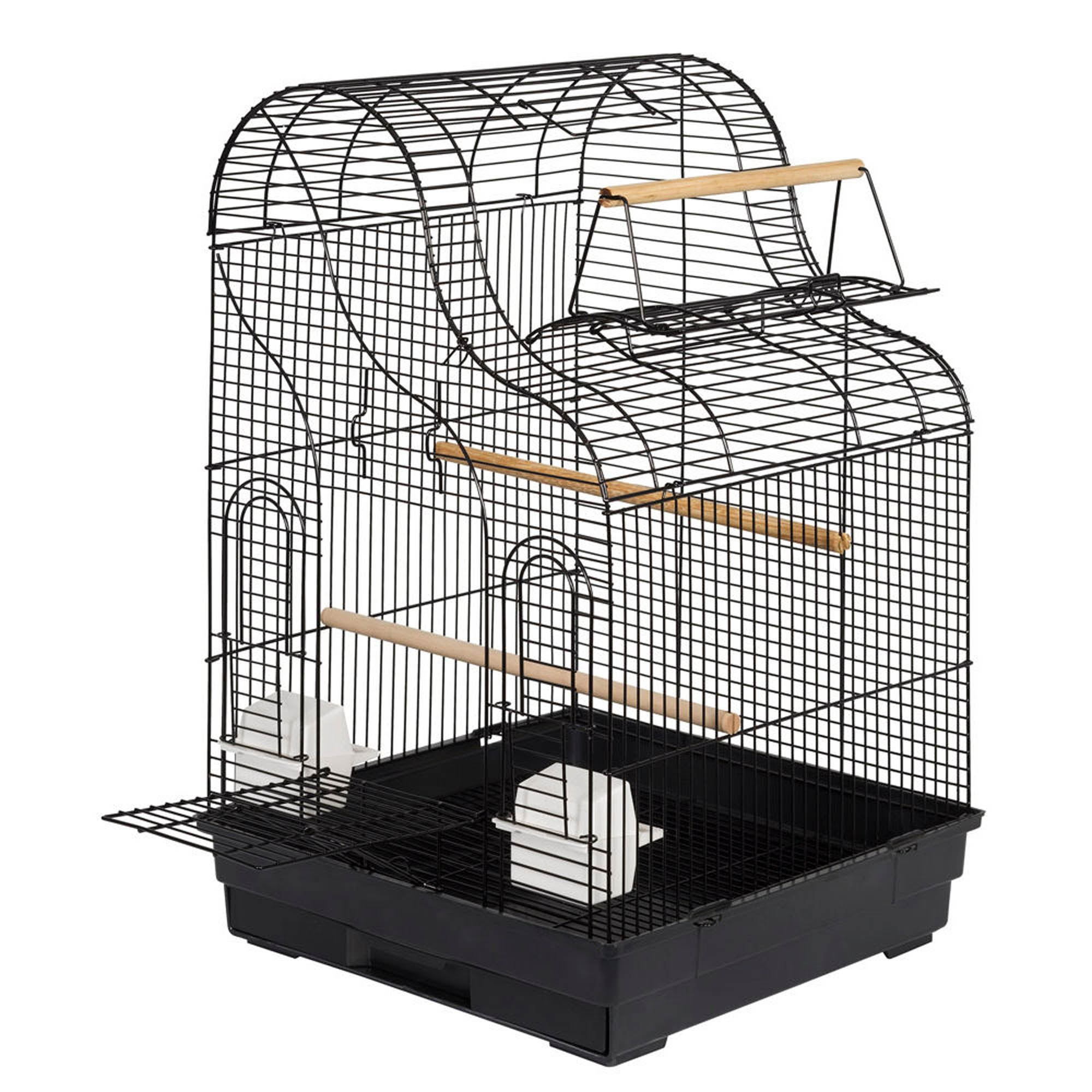 Georgia Bird Cage Black