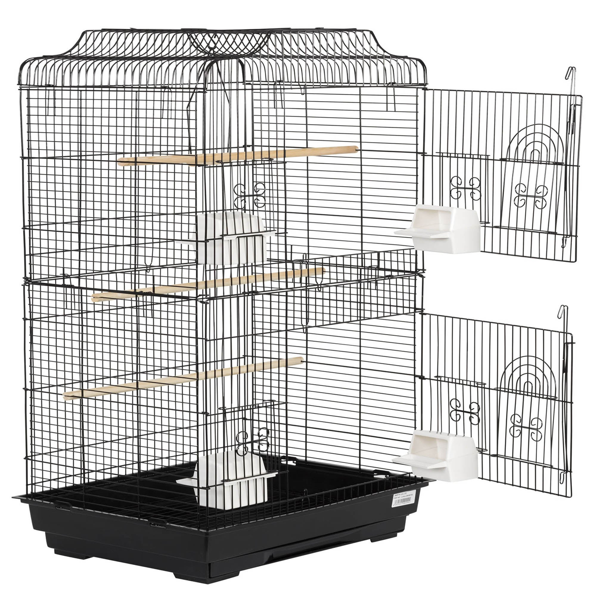 Lotus Bird Cage Black