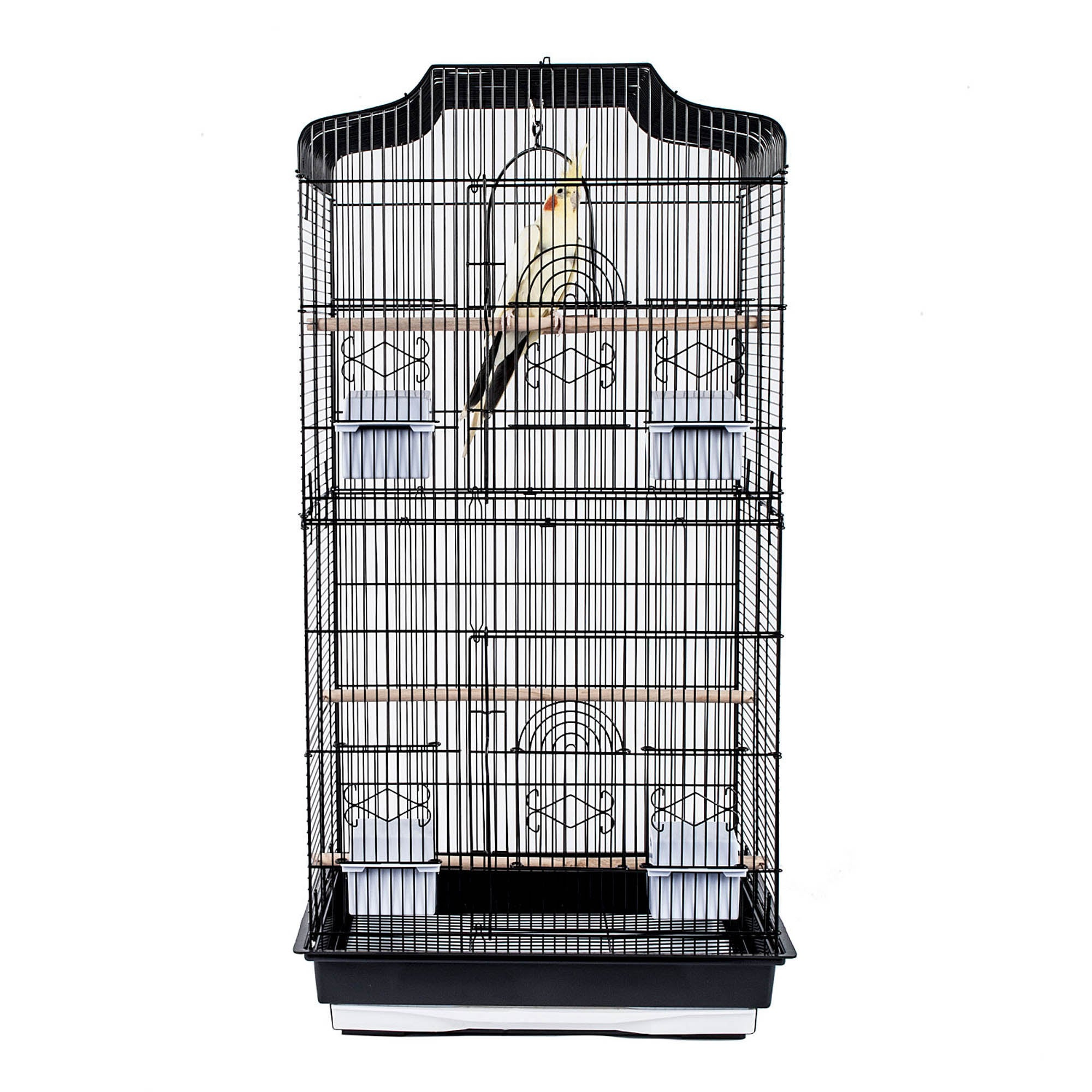 St Lucia Bird Cage Black