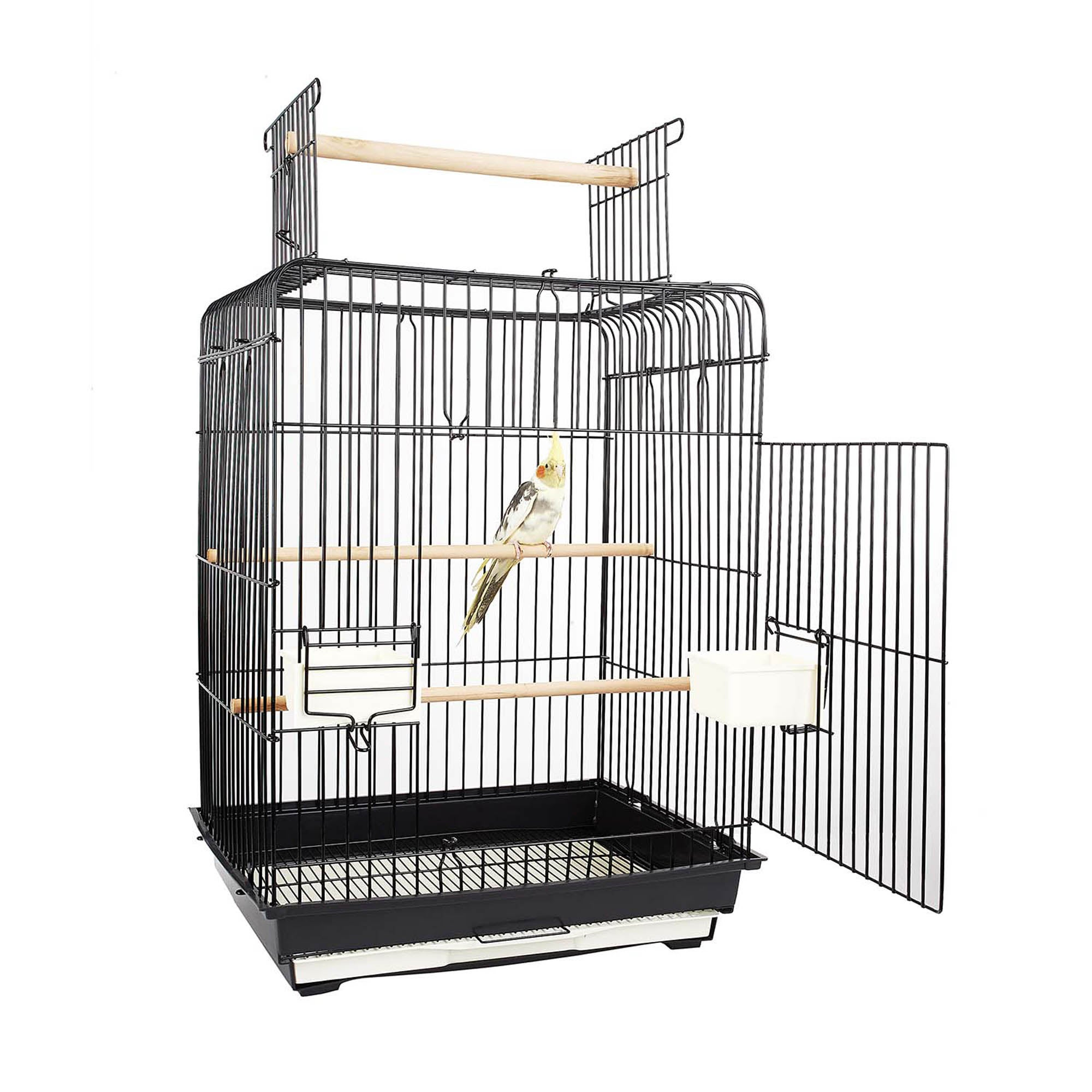 Phoenix Bird Cage Black
