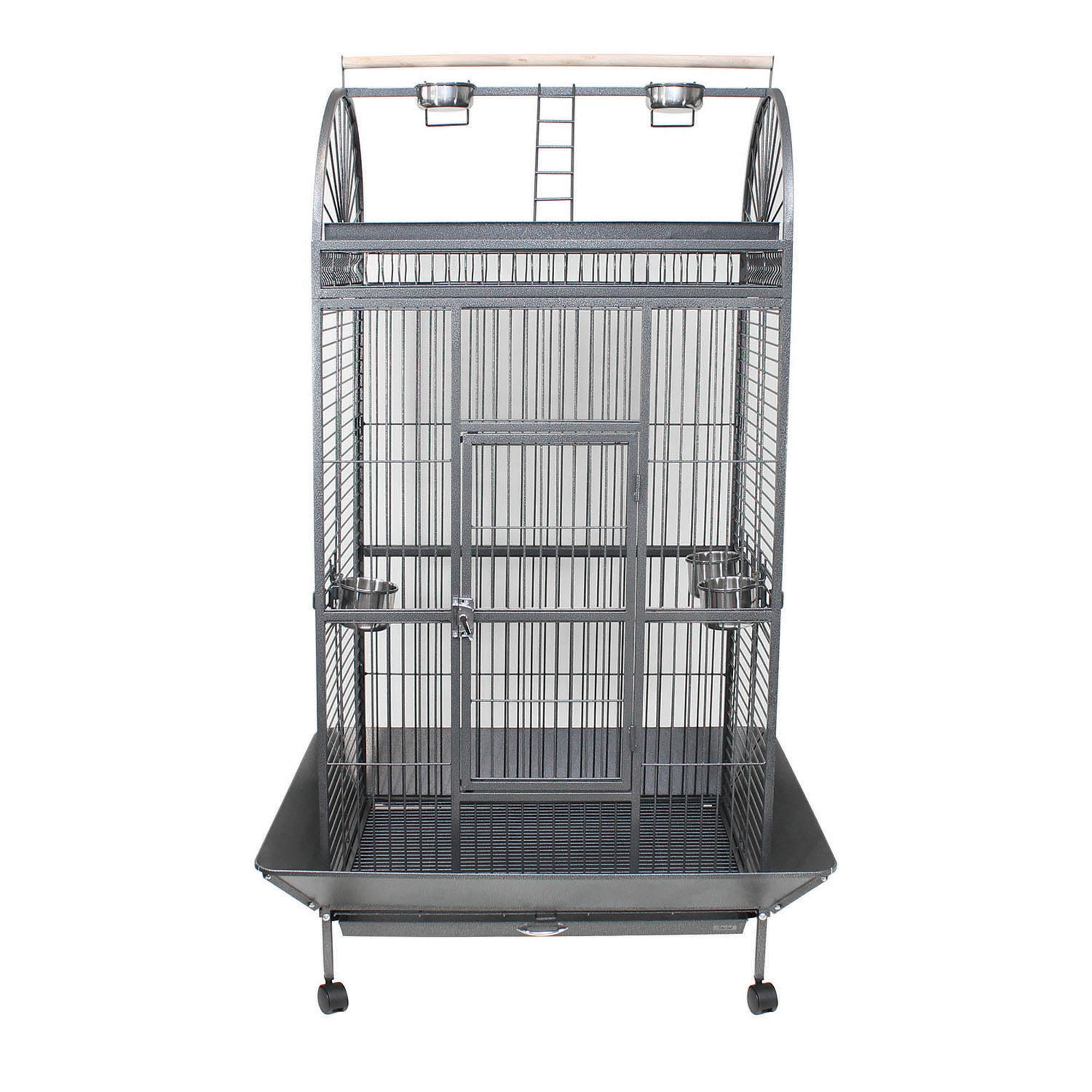 Large Parrot Cage Charcoal (Grey)