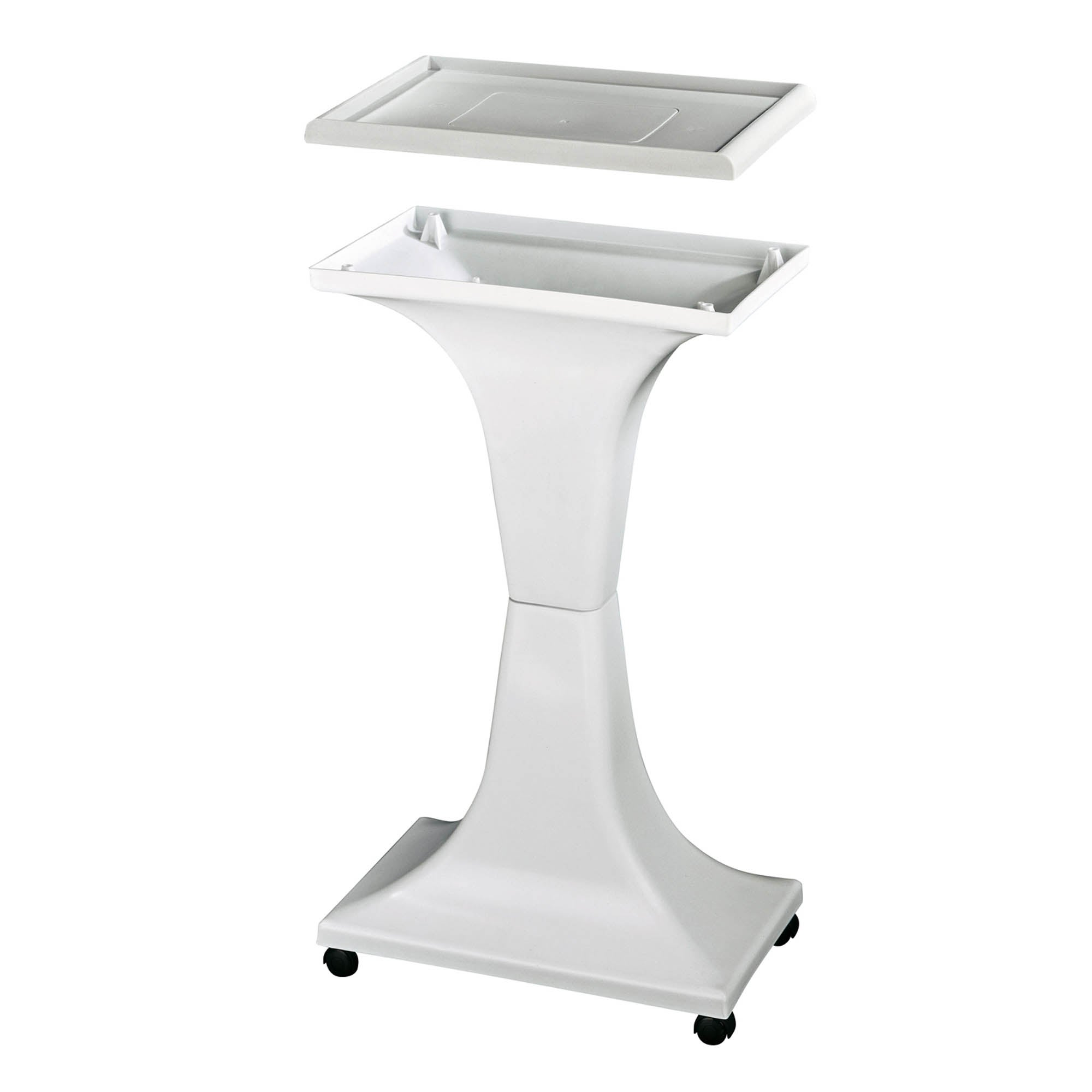 Irene 2 Cage Stand White