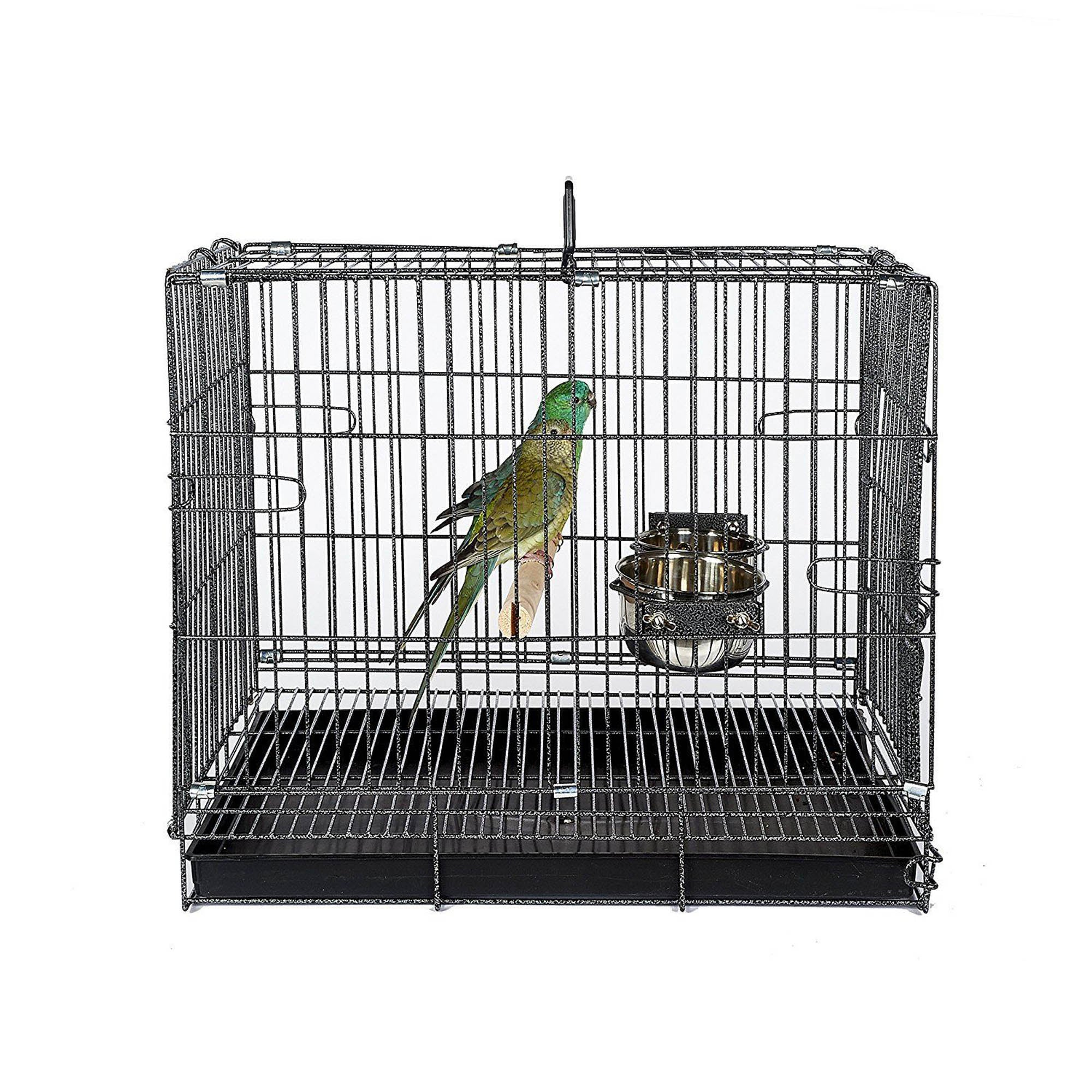 Small Transport Cage Black