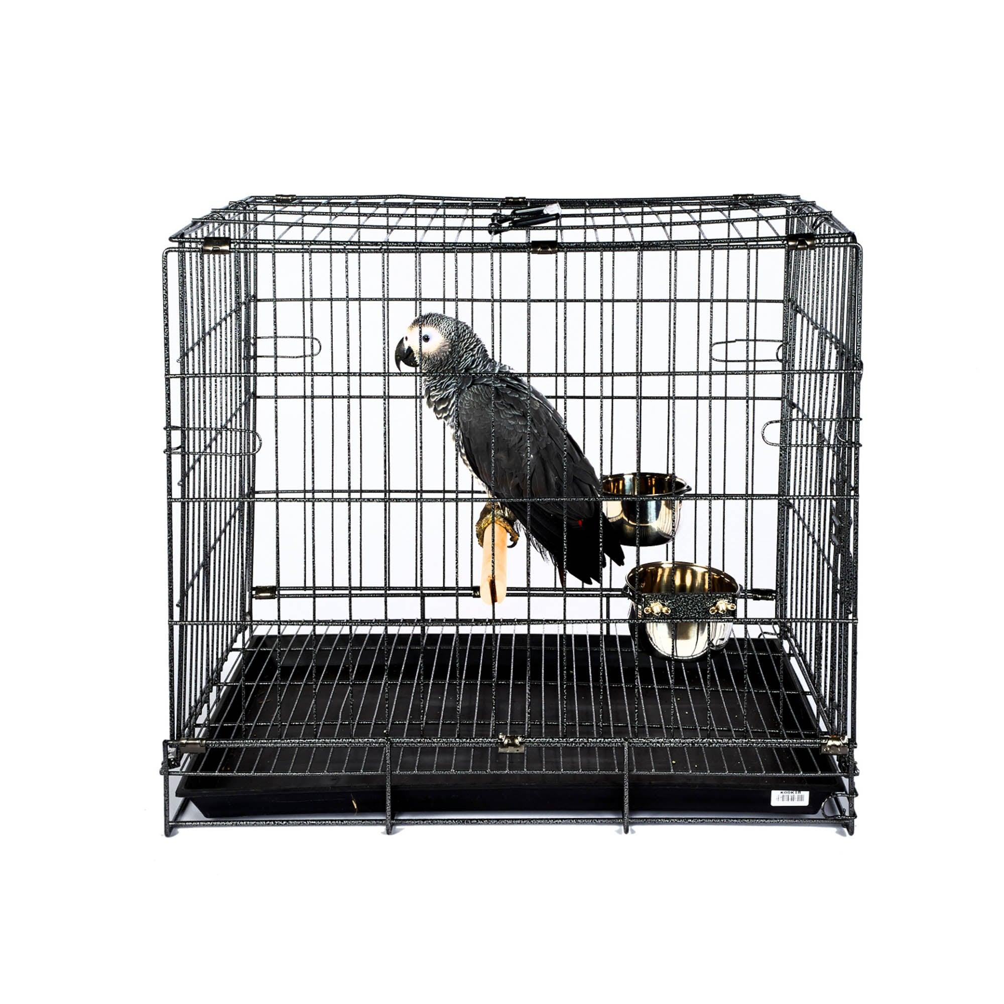Large Transport Cage Black