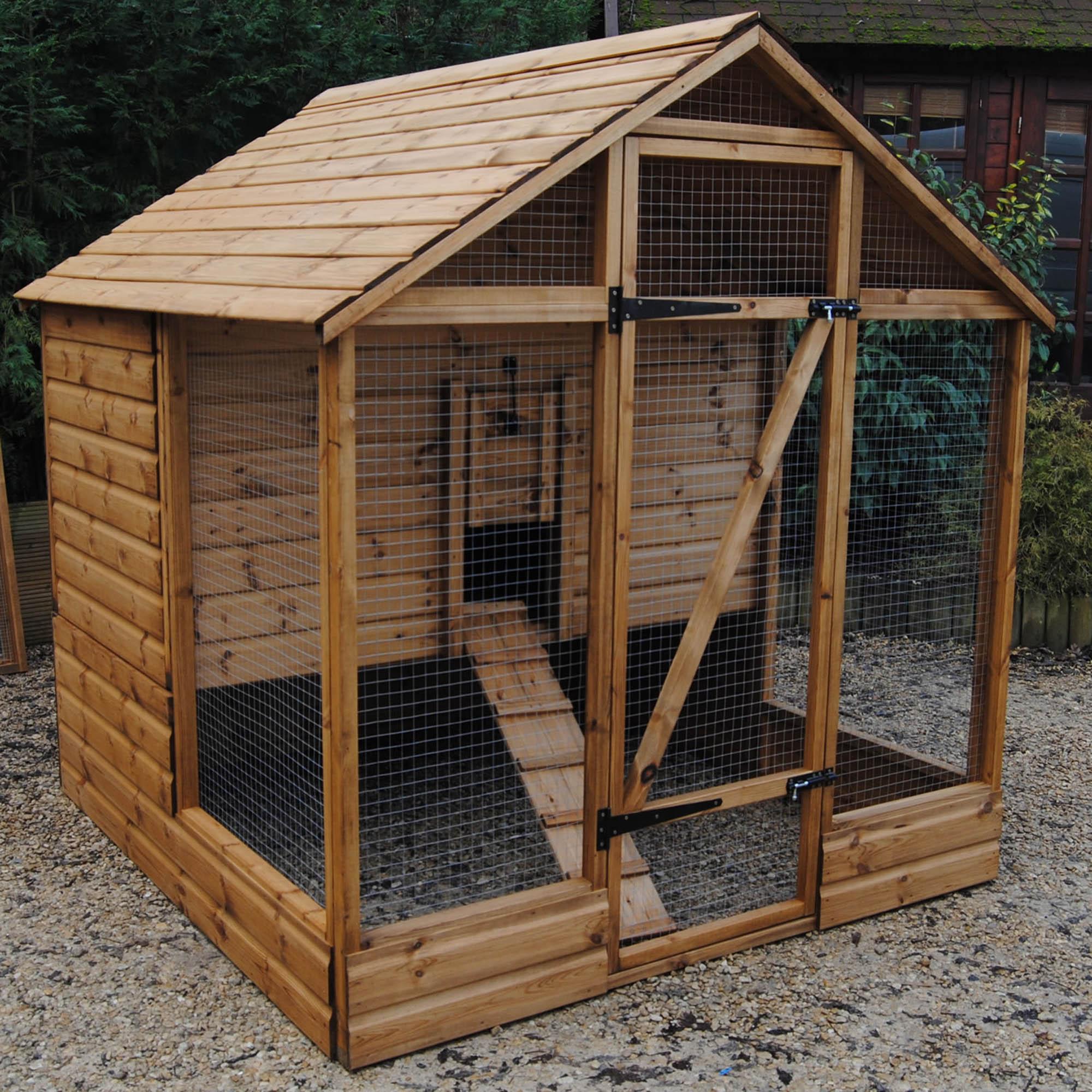 Blenheim Deluxe Chicken House Pine (Brown)