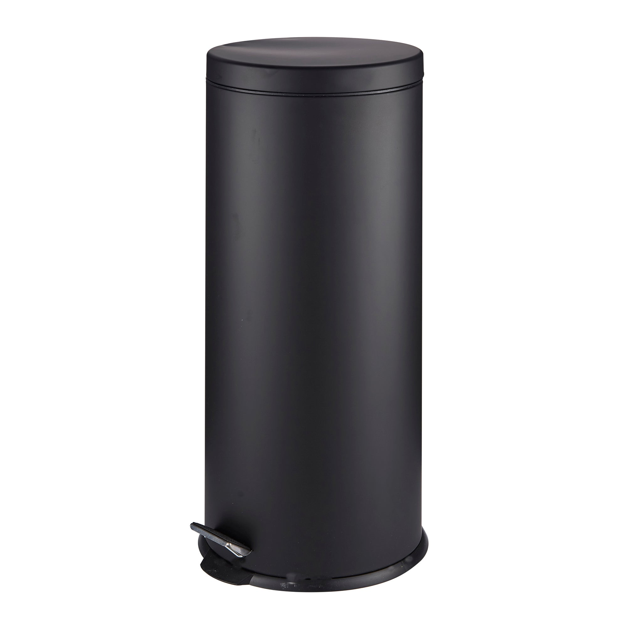 Photo of Dunelm 30 litre matt black pedal bin matt black