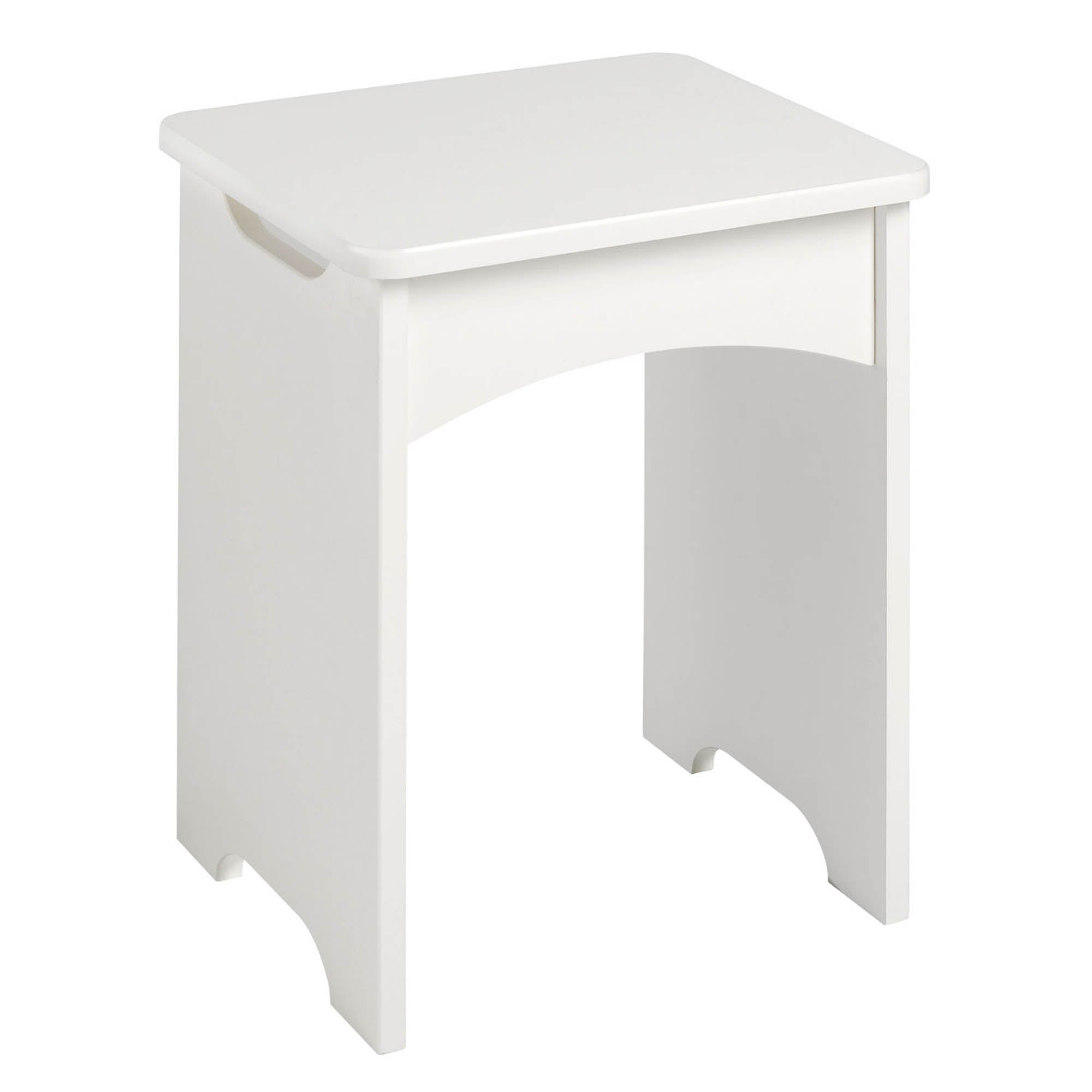 Photo of Calando parchment dressing table stool parchment -natural-