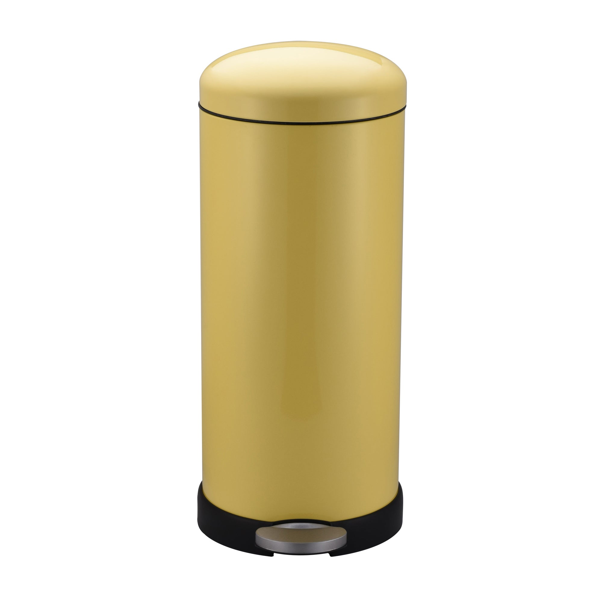 Image of 30 Litre Yellow Pedal Bin Yellow