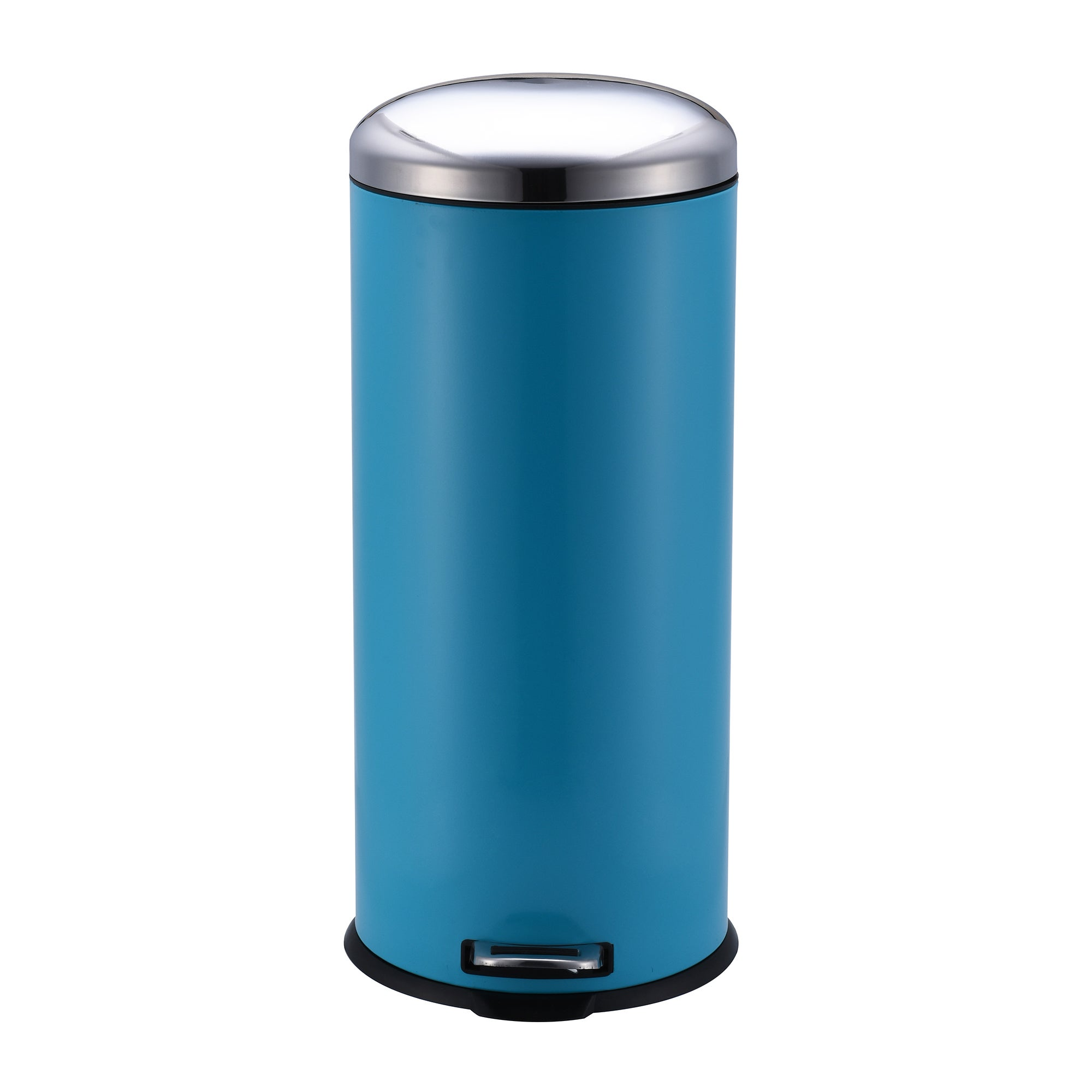 Image of 30 Litre Teal Pedal Bin Multi Coloured
