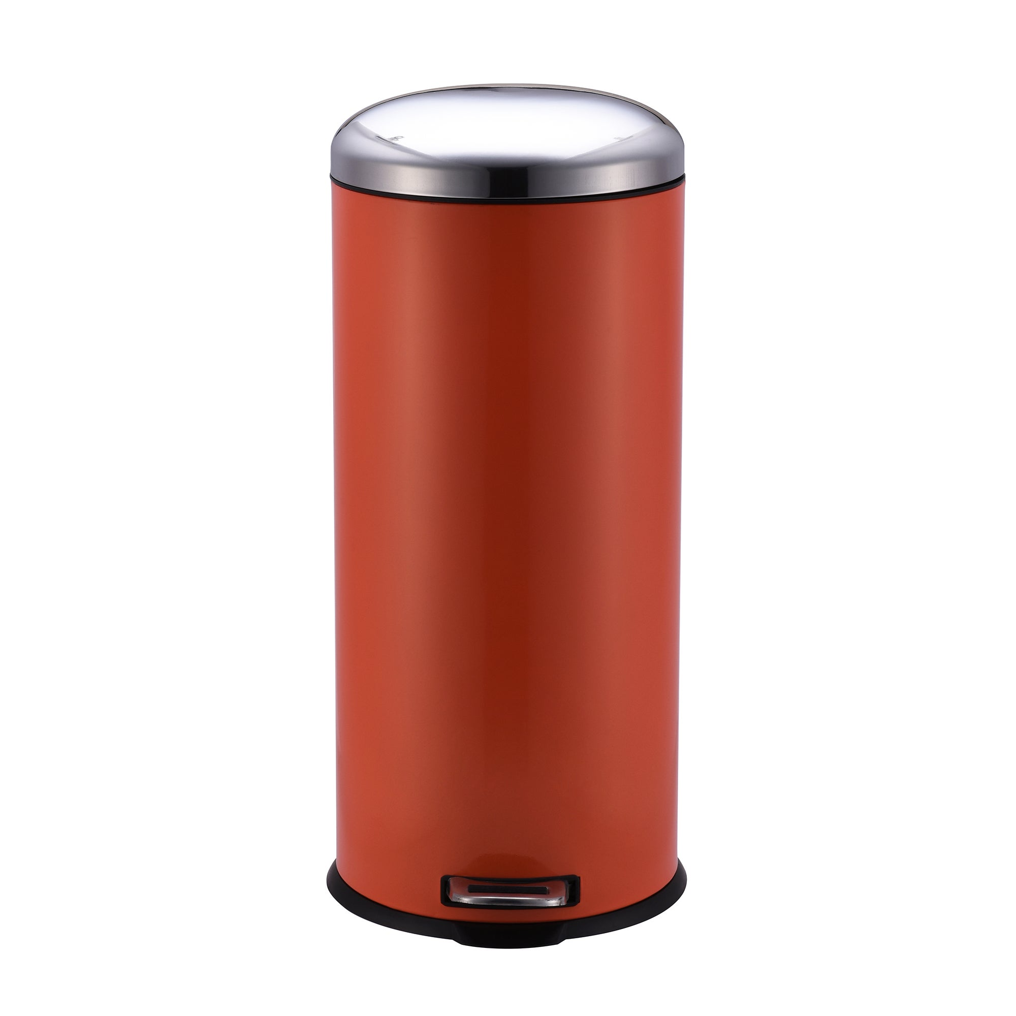Image of 30 Litre Orange Pedal Bin Orange
