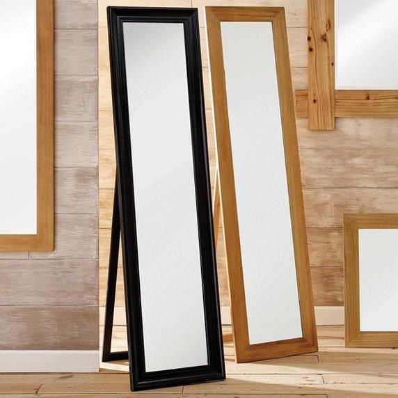 Mirrors bedroom living room mirrors dunelm for Free standing bathroom mirrors