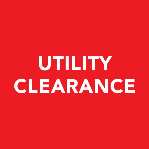 Utility Clearance Sale