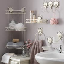 Vintage Heart Bathroom Collection