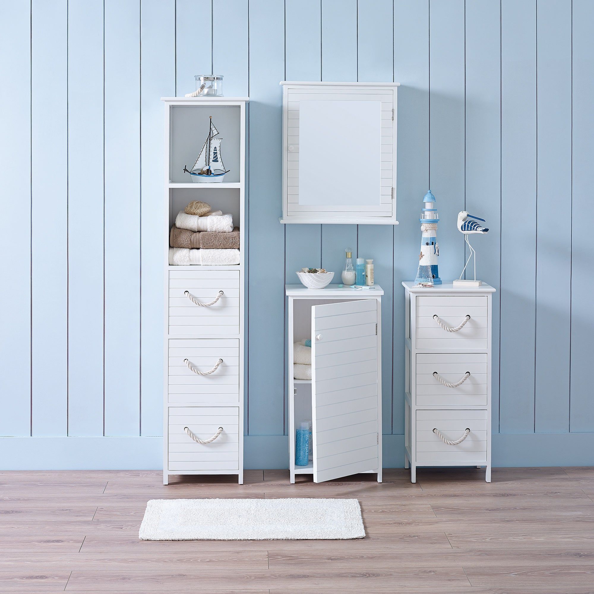 Nautical Bathroom Furniture Collection