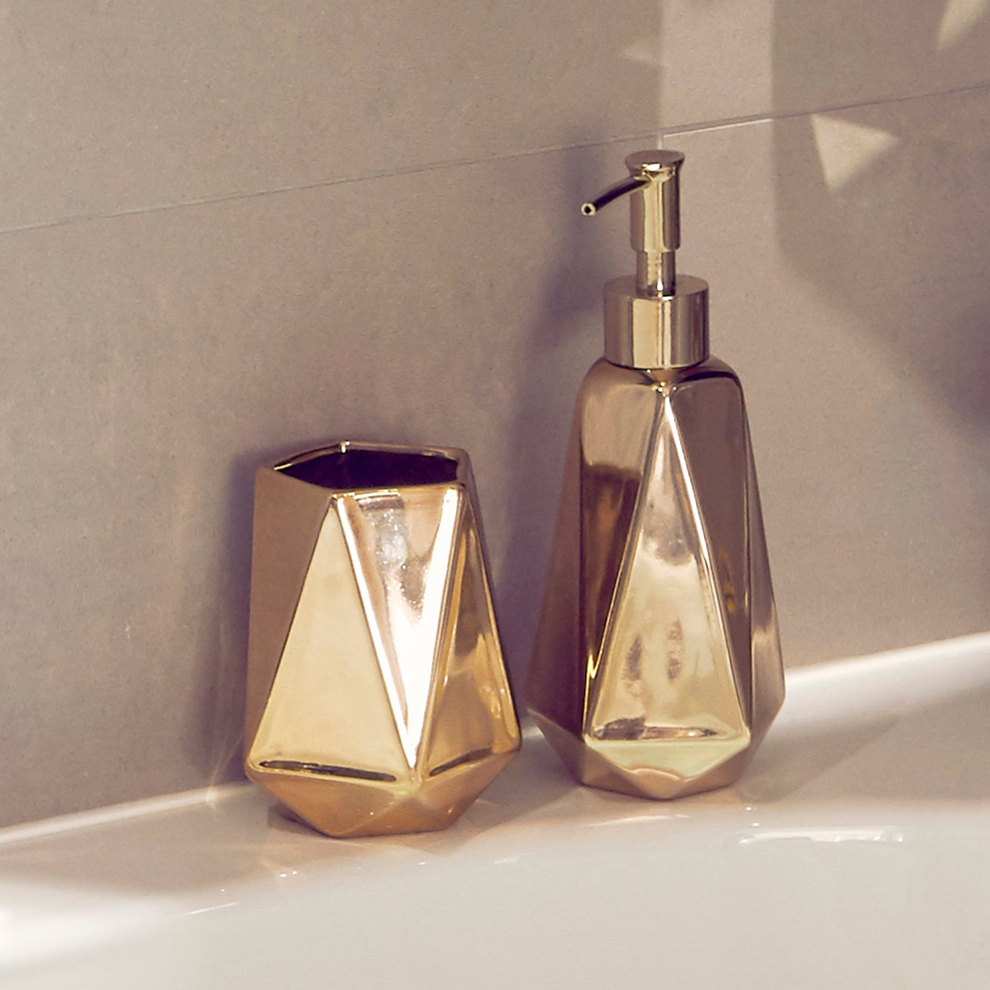 Geo Luxe Bathroom Collection