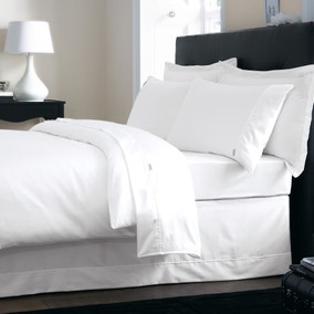 Dorma 350 Thread Count Plain Dye Bed Linen Collection