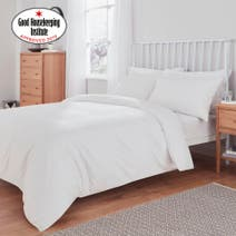 Non Iron Plain Dye Bed Linen Collection