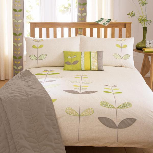 Green Naya Bed Linen Collection