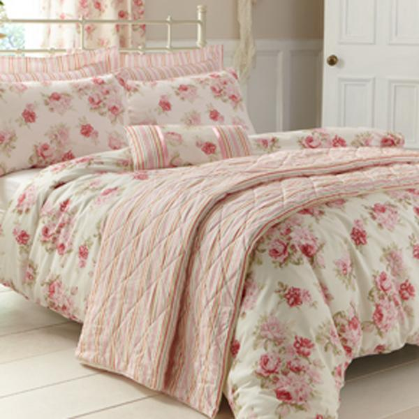 Annabella Pink Bed Linen Collection