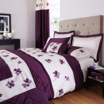 Louisa Plum Bed Linen Collection