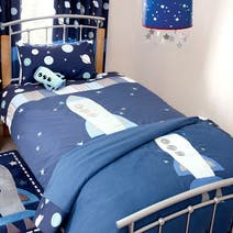 Kids Space Mission Bed Linen Collection